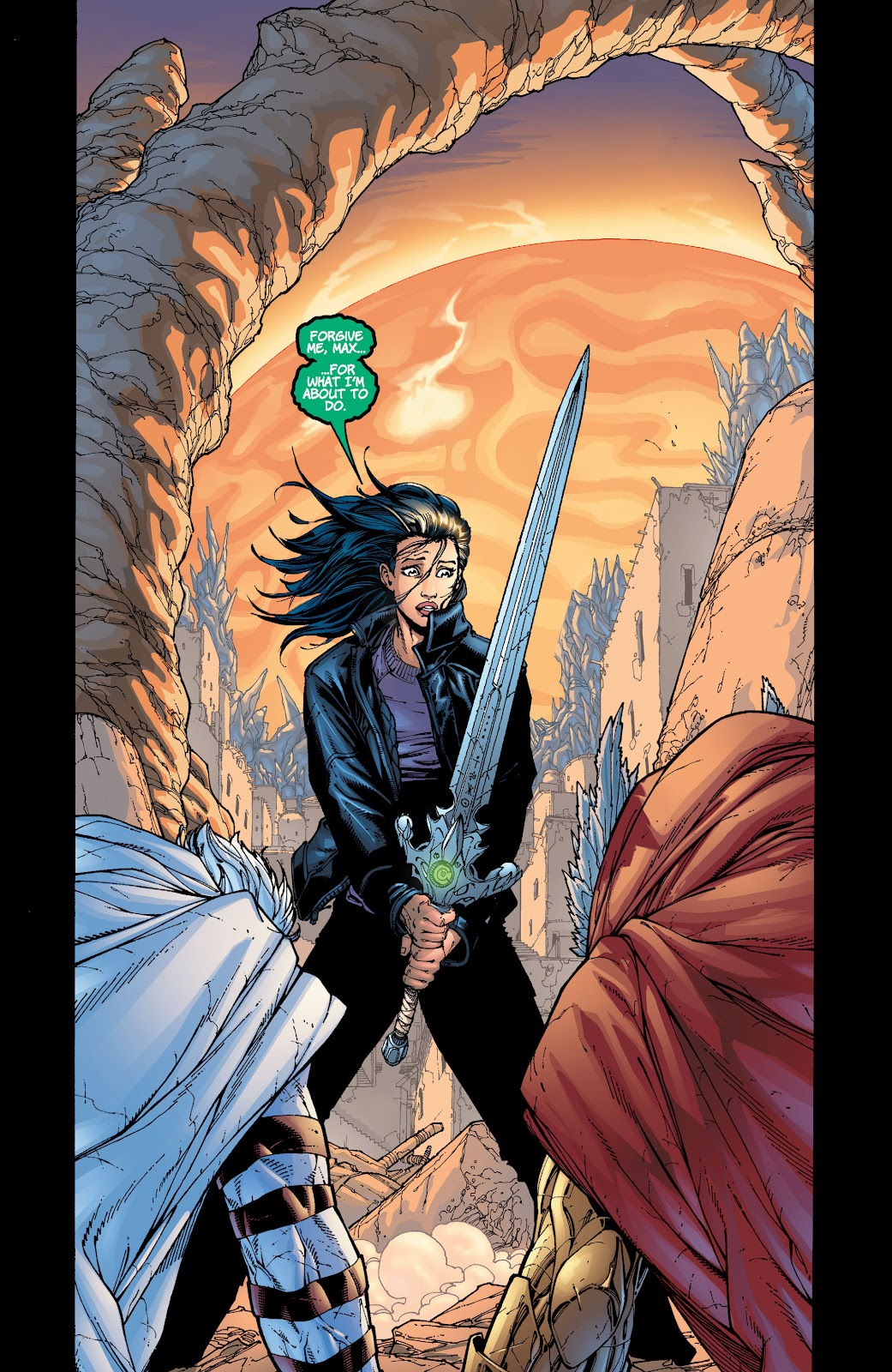 Read online Divine Right comic -  Issue # _TPB The Adventures of Max Faraday (Part 4) - 25