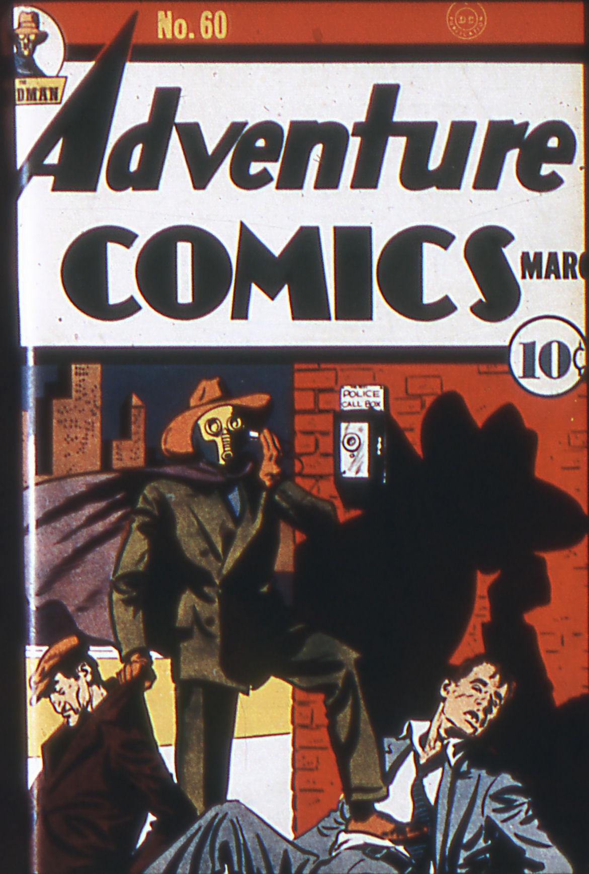 Read online Adventure Comics (1938) comic -  Issue #60 - 1
