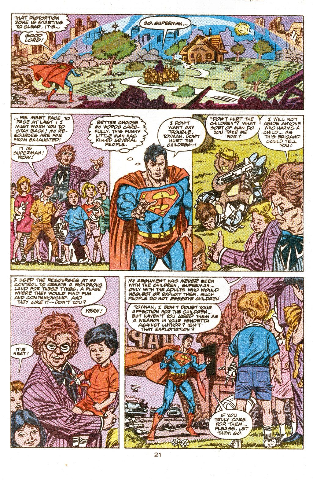 Read online Action Comics (1938) comic -  Issue #657 - 22