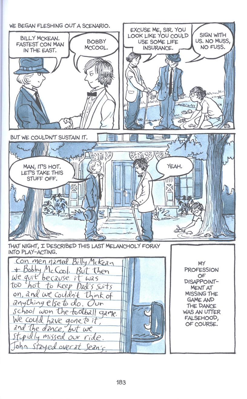 Read online Fun Home: A Family Tragicomic comic -  Issue # TPB - 189