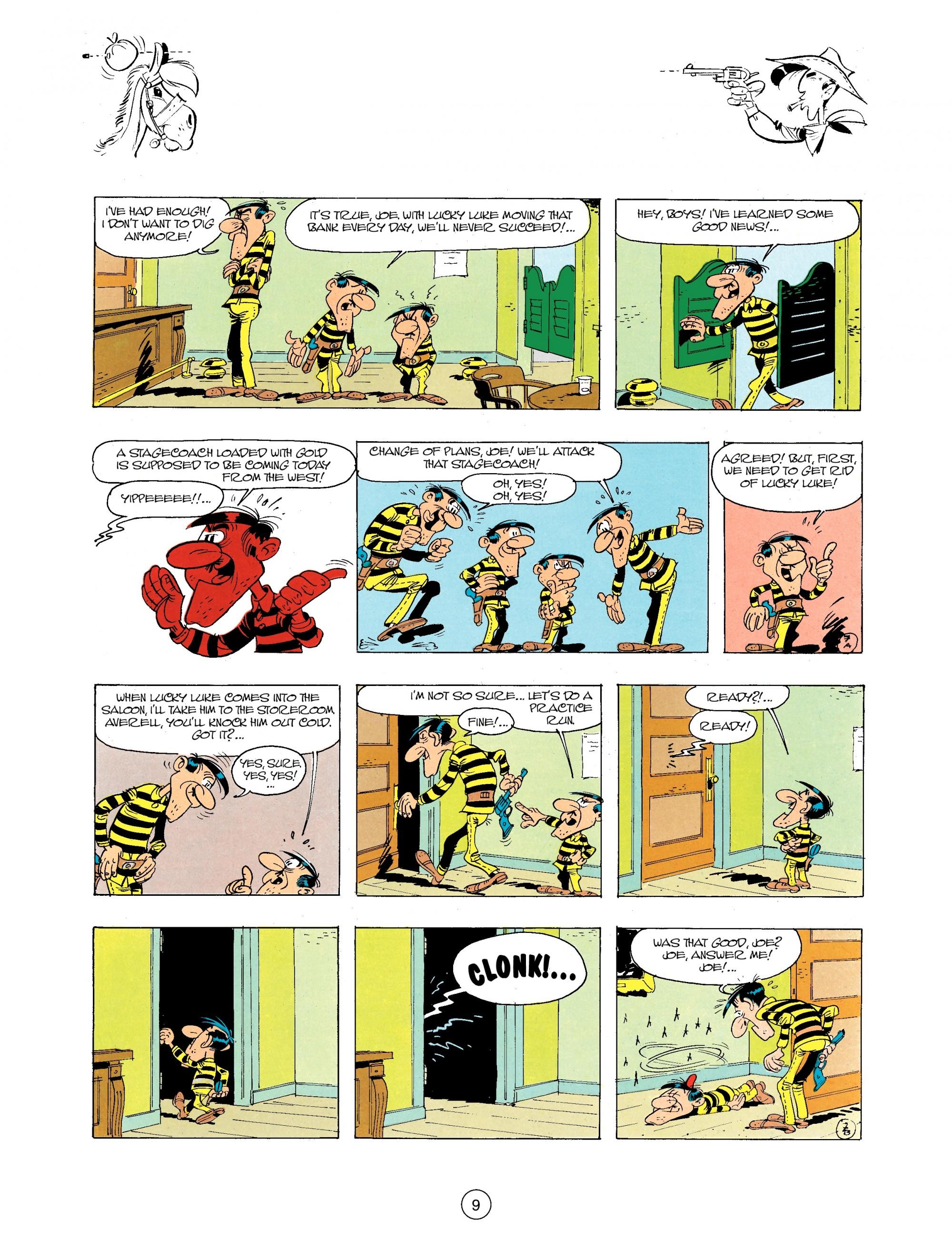 Read online A Lucky Luke Adventure comic -  Issue #34 - 9