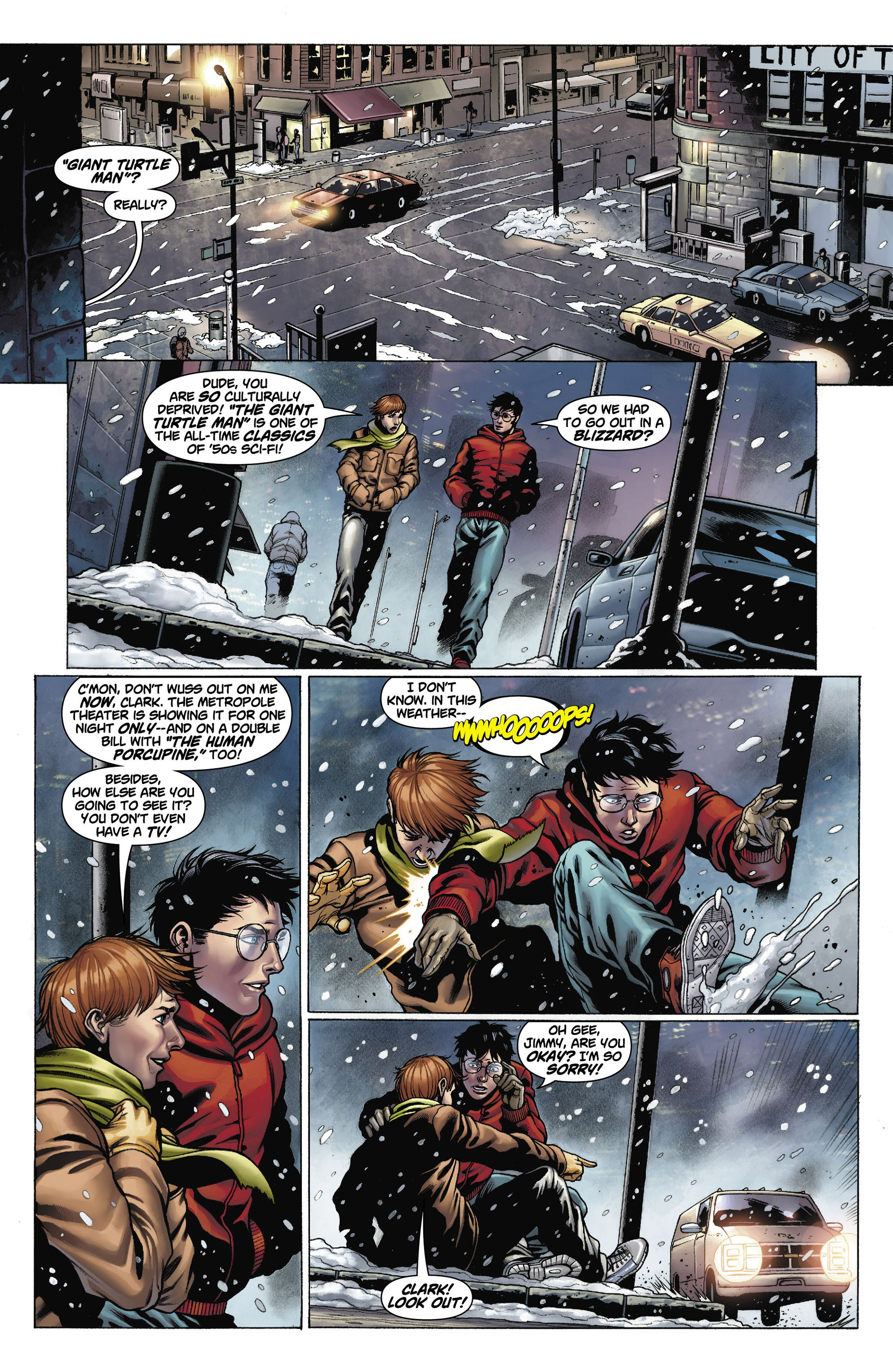 Read online Action Comics (2011) comic -  Issue #10 - 21