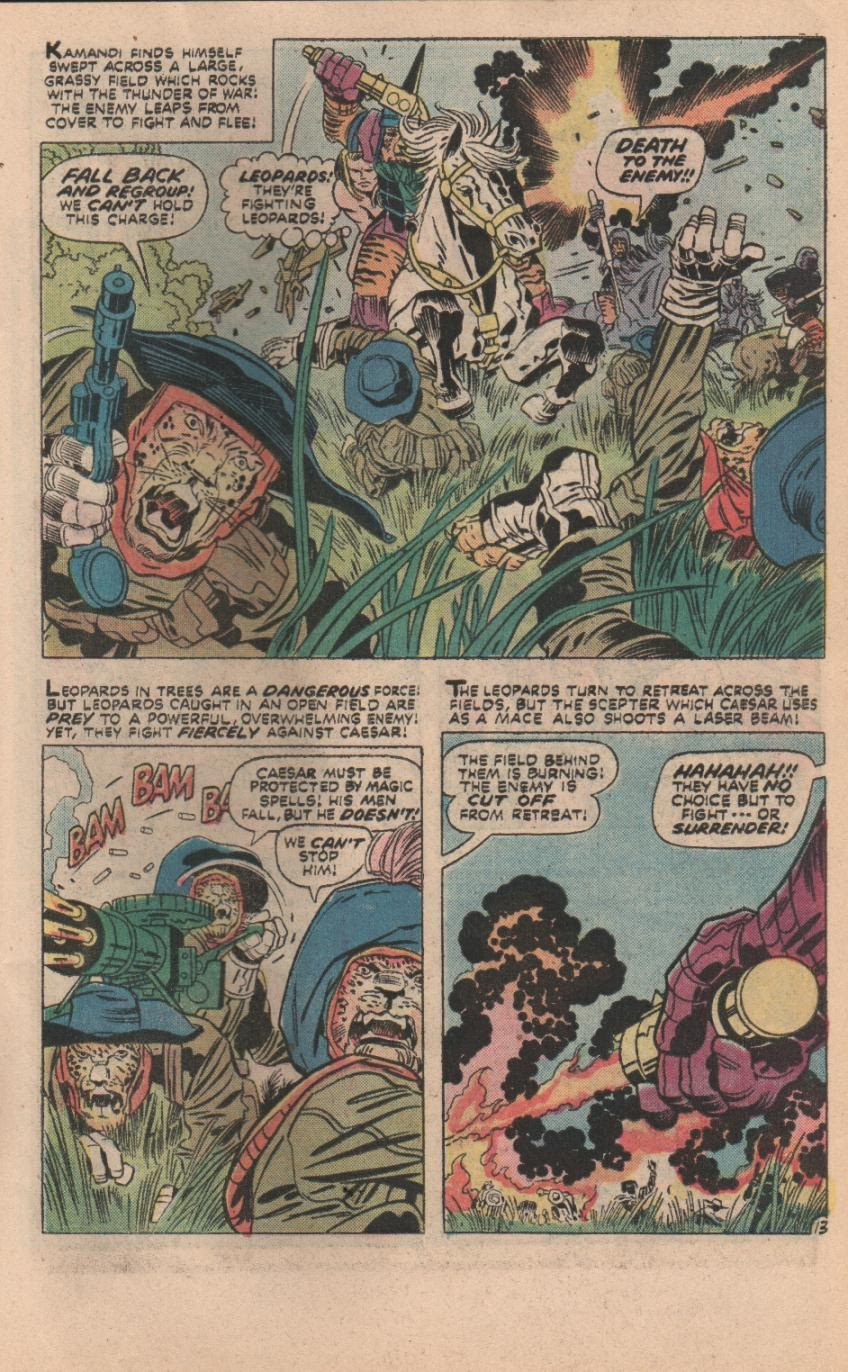 Kamandi, The Last Boy On Earth issue 32 - Page 44