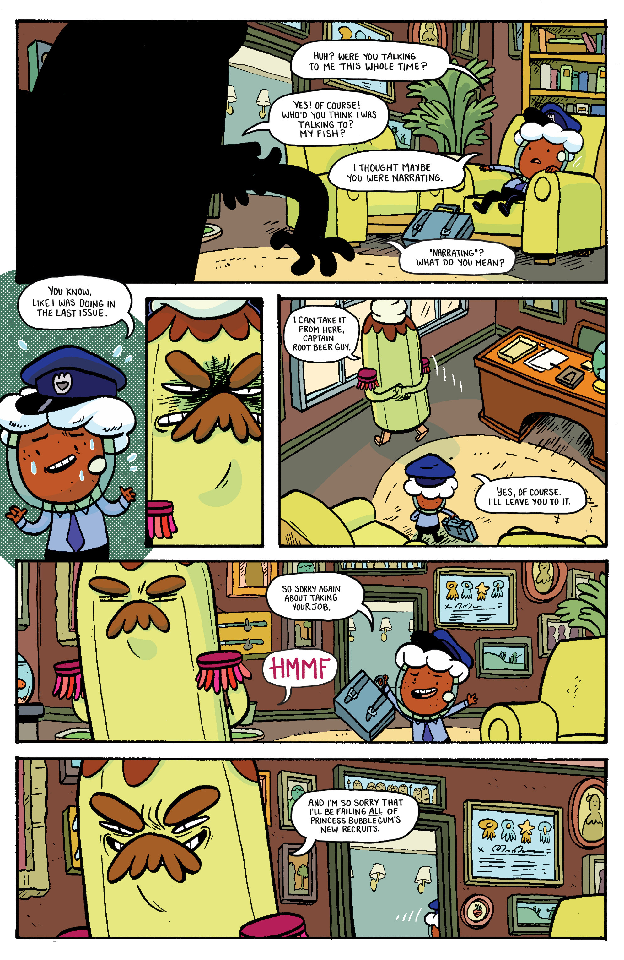 Read online Adventure Time: Banana Guard Academ comic -  Issue #2 - 6