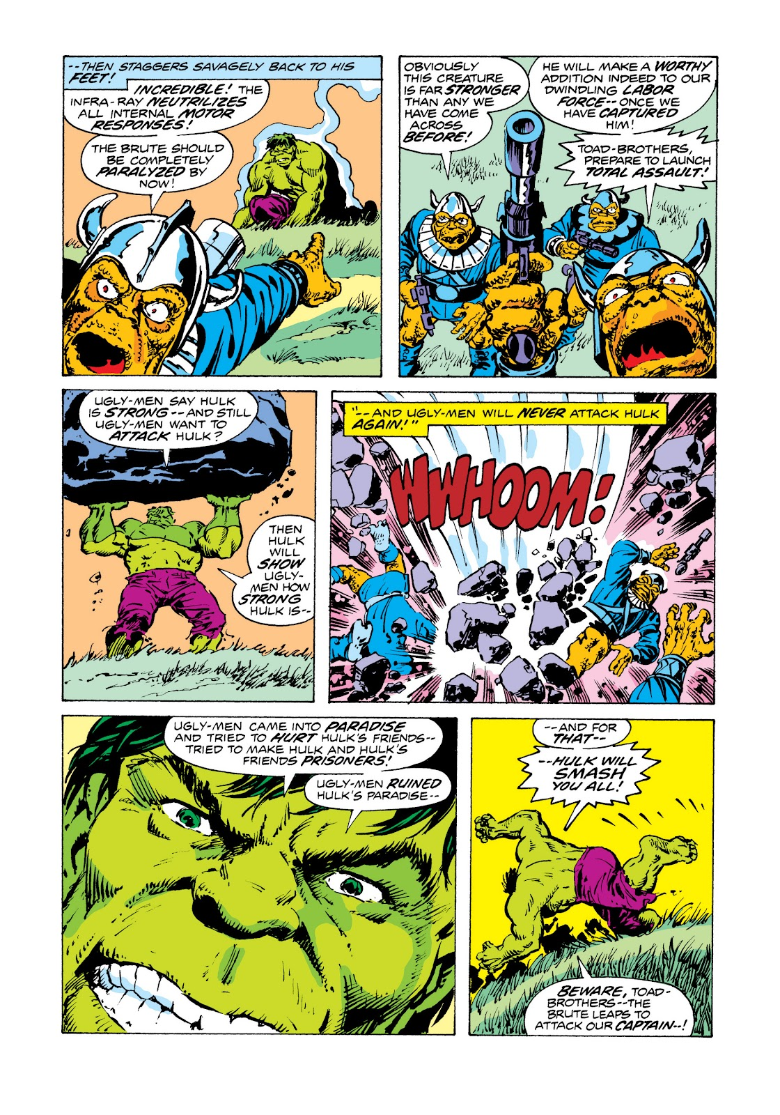 Read online Marvel Masterworks: The Incredible Hulk comic -  Issue # TPB 11 (Part 2) - 36