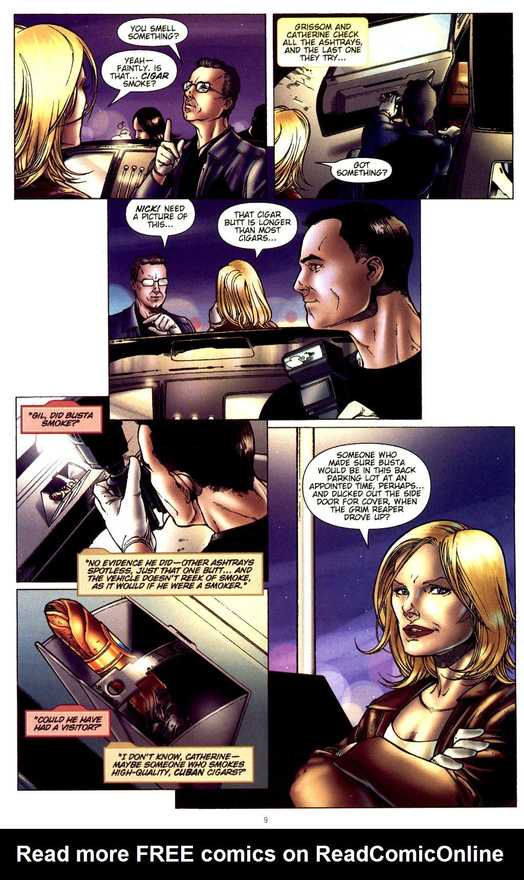 Read online CSI: Crime Scene Investigation: Bad Rap comic -  Issue #2 - 10
