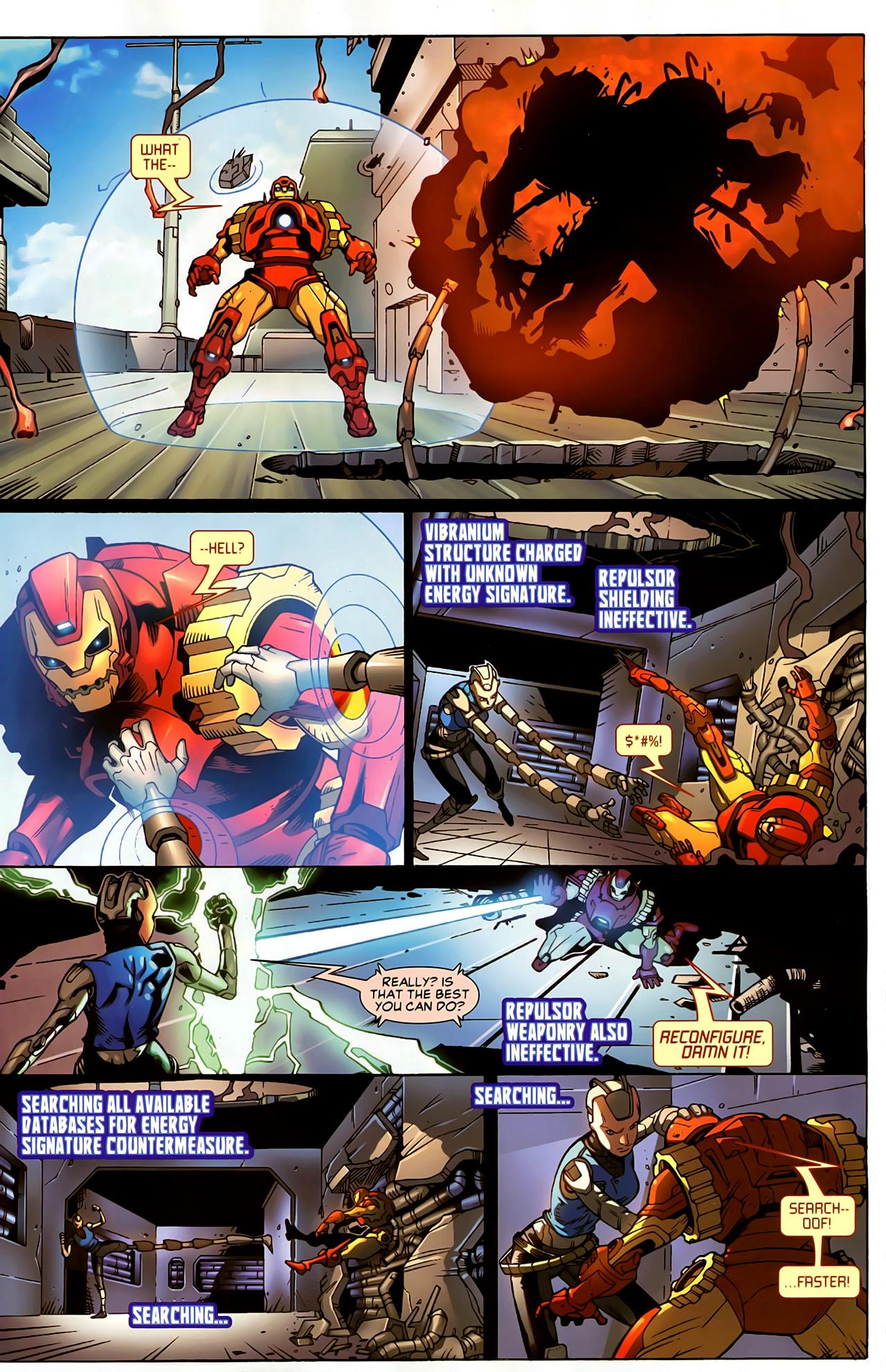 Read online Astonishing Tales (2009) comic -  Issue #5 - 16