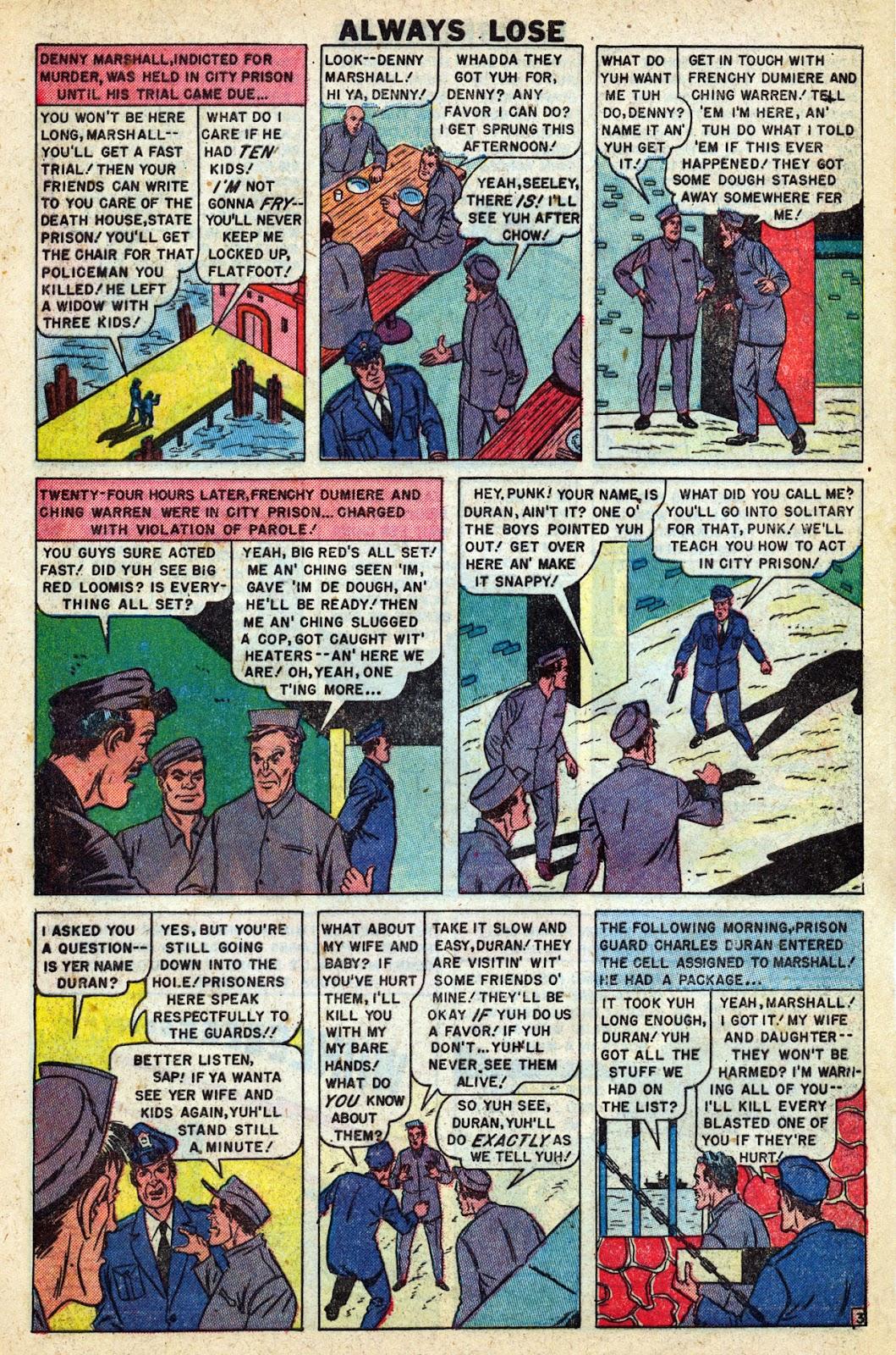 Lawbreakers Always Lose! issue 9 - Page 5