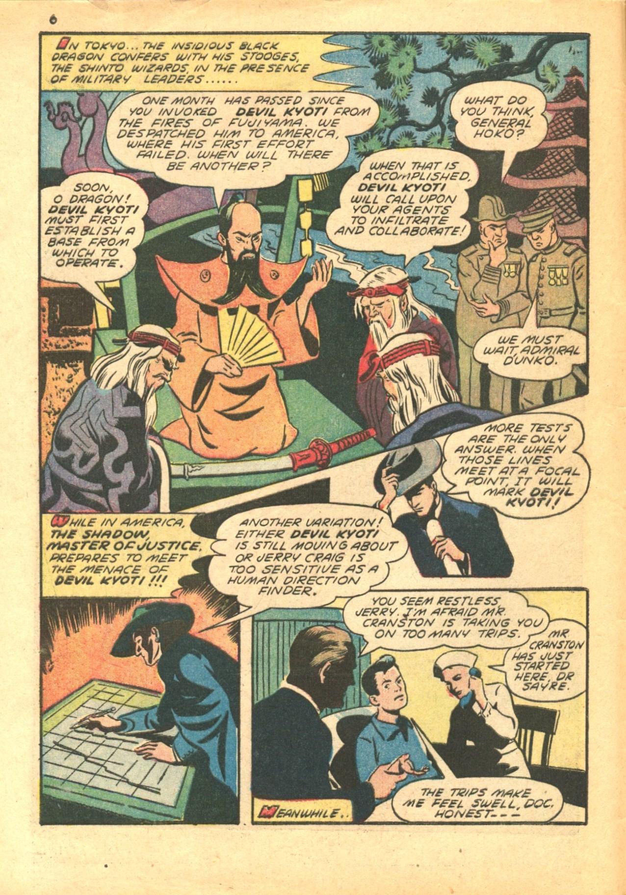 Read online Shadow Comics comic -  Issue #24 - 6