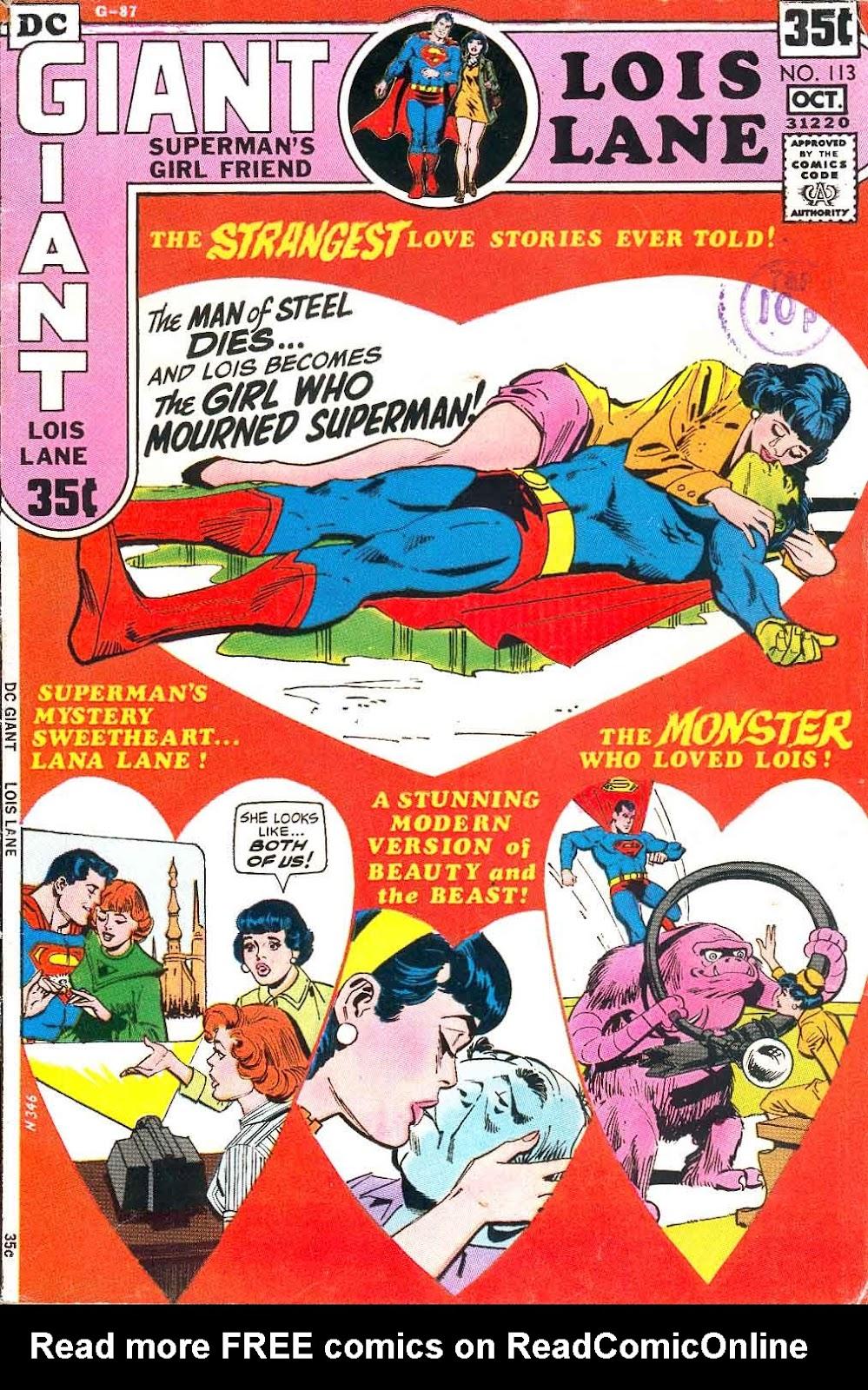 Supermans Girl Friend, Lois Lane 113 Page 1