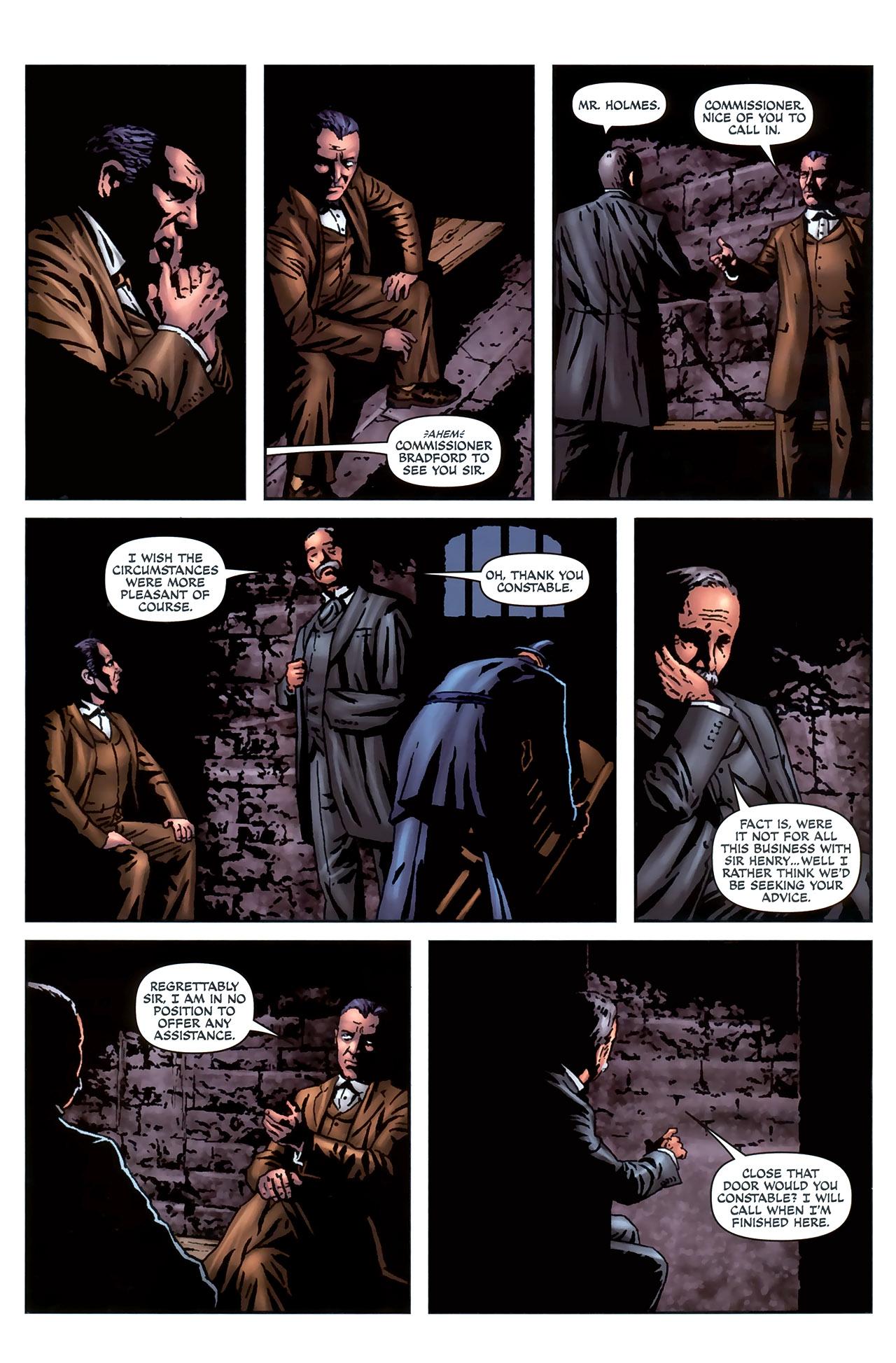 Read online Sherlock Holmes (2009) comic -  Issue #4 - 22