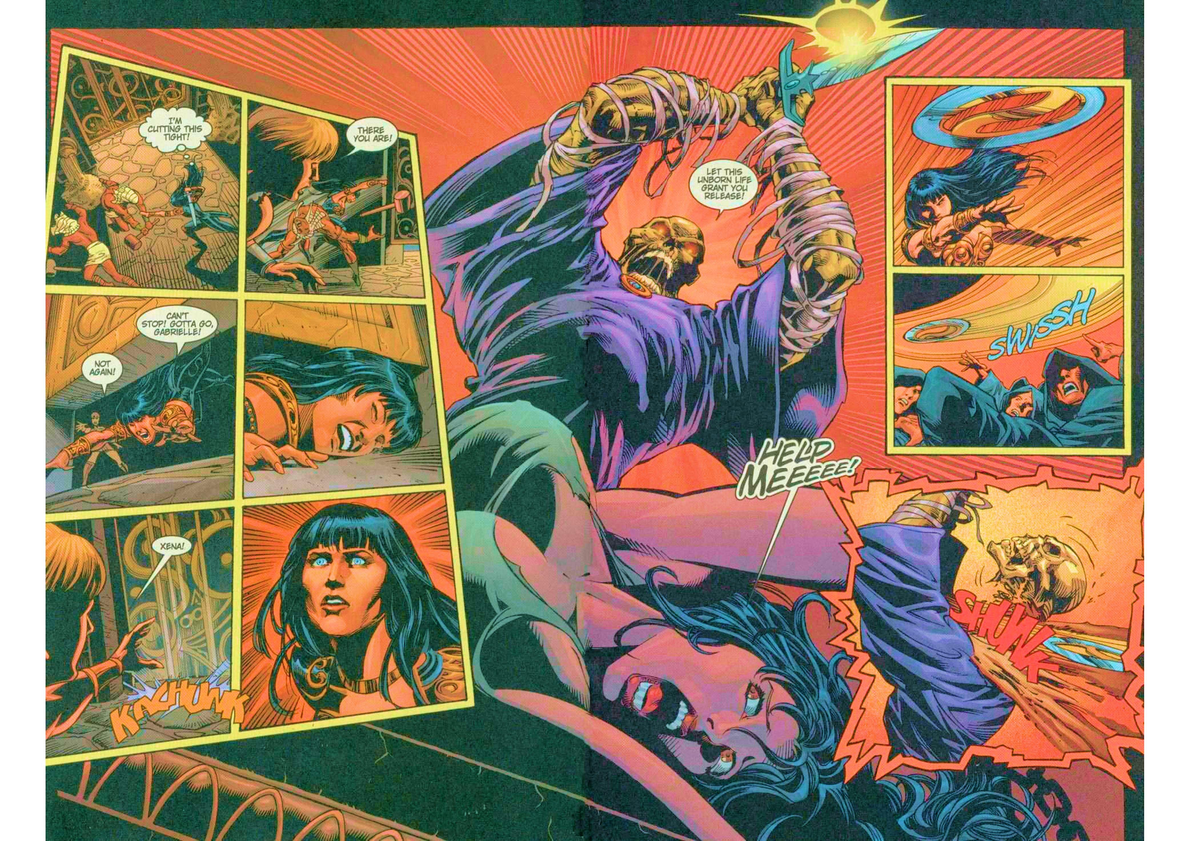 Read online Xena: Warrior Princess (1999) comic -  Issue #6 - 14