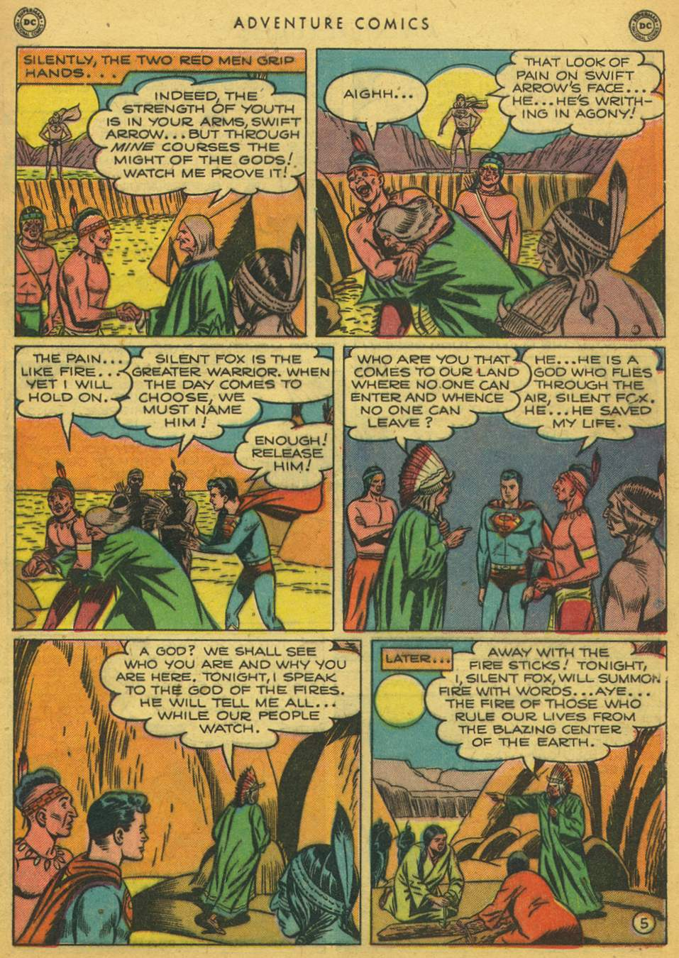 Read online Adventure Comics (1938) comic -  Issue #164 - 7