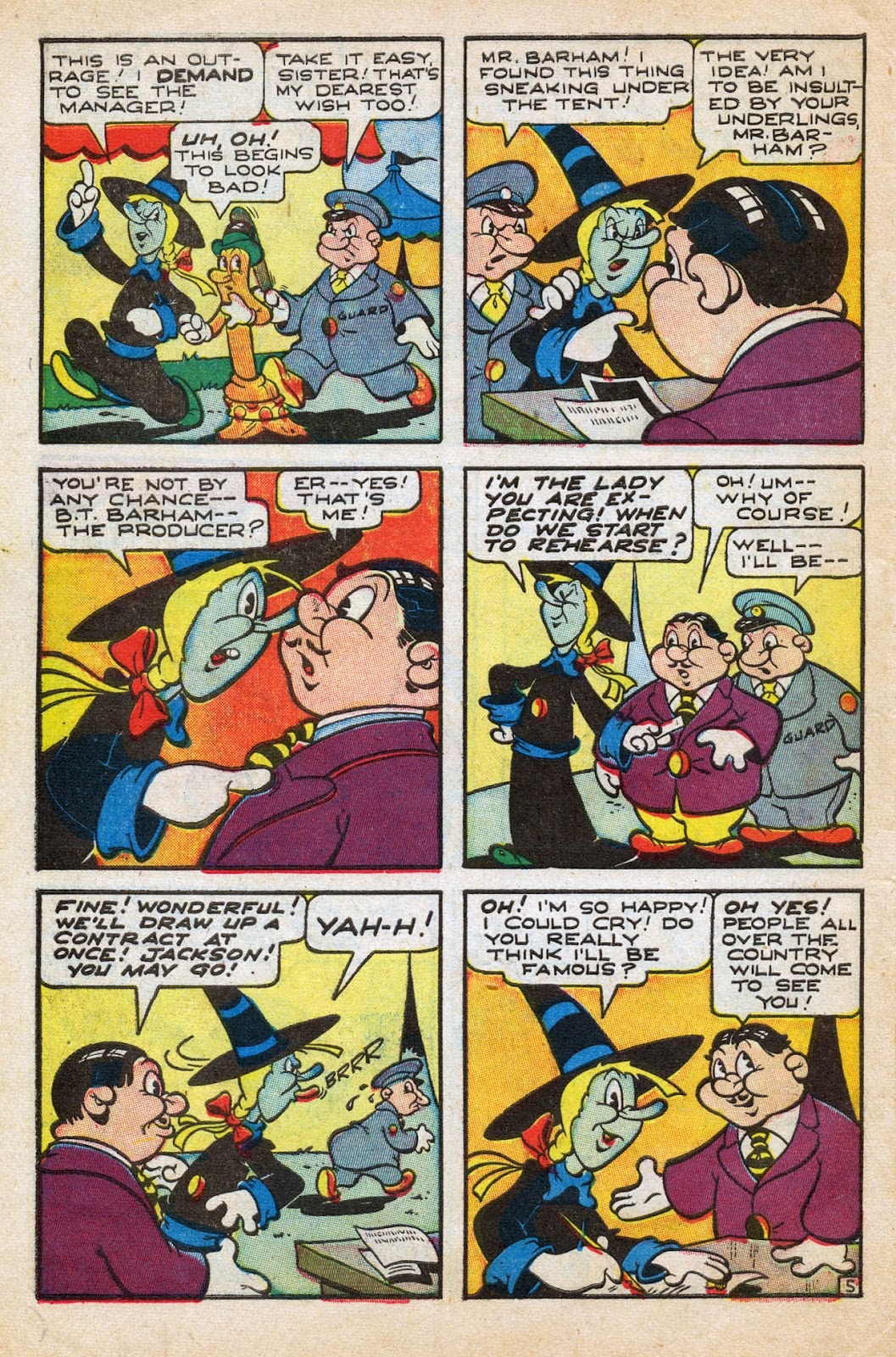 Read online Comedy Comics (1942) comic -  Issue #27 - 30