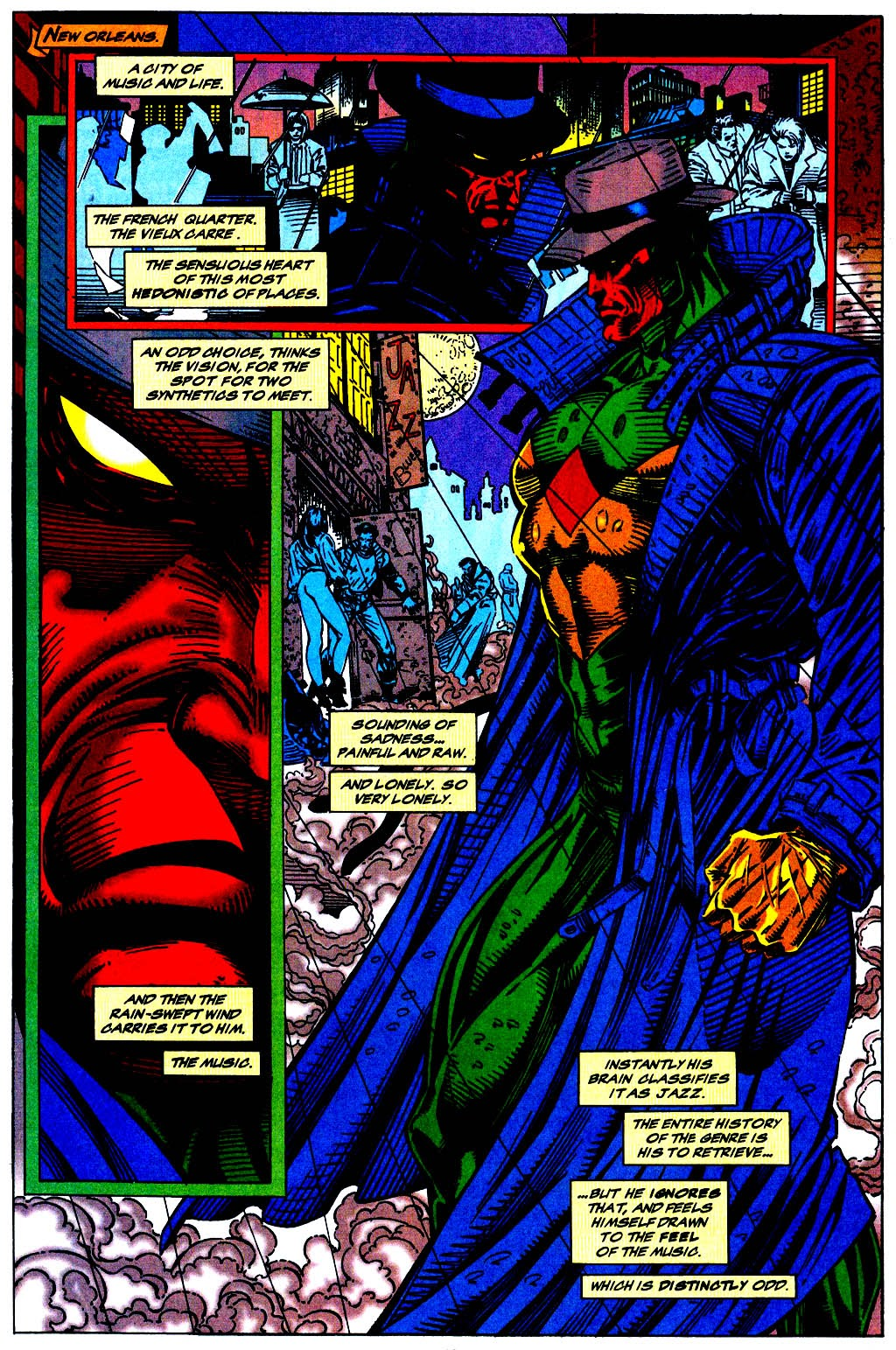 Read online The Vision comic -  Issue #1 - 12
