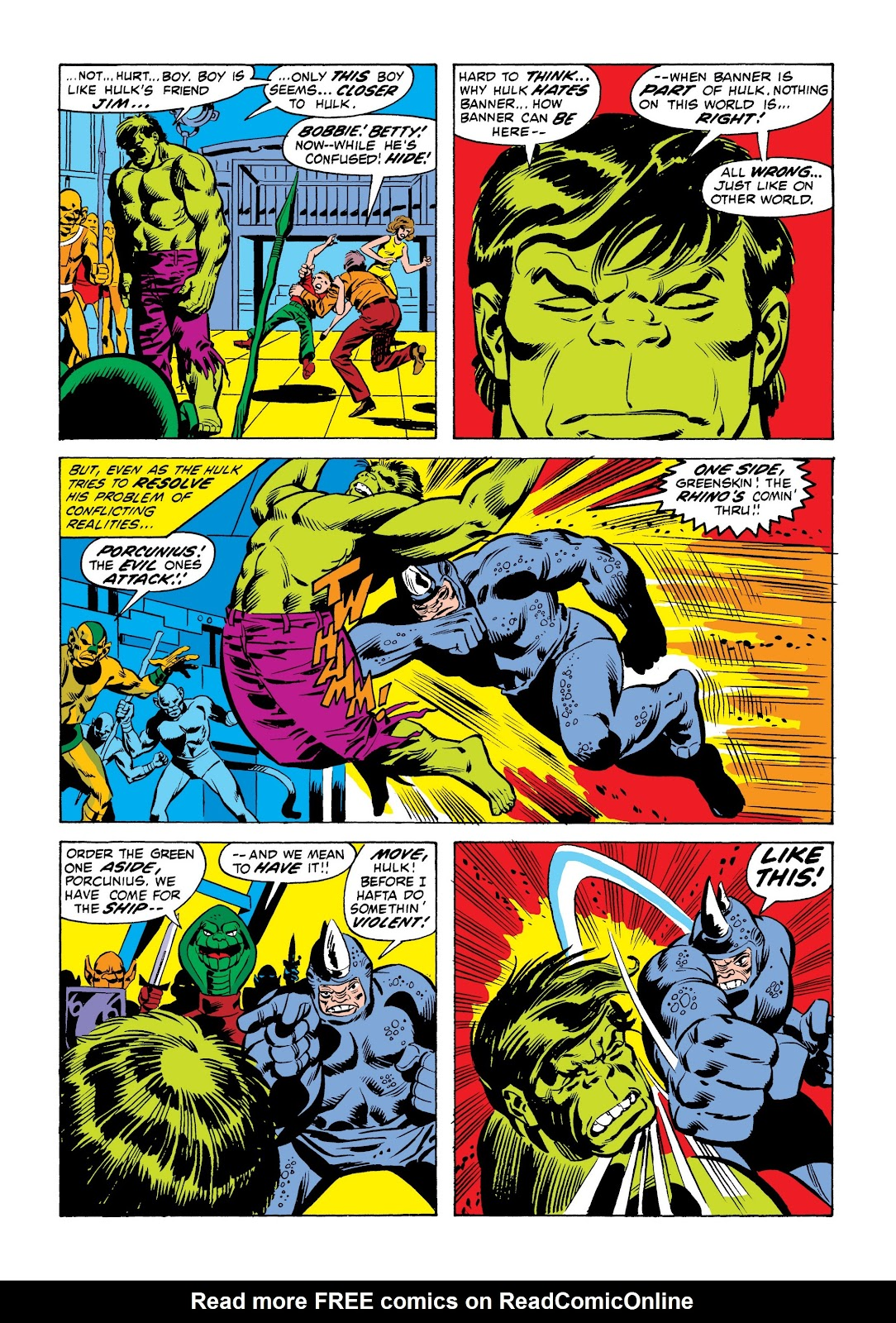 Read online Marvel Masterworks: The Incredible Hulk comic -  Issue # TPB 9 (Part 1) - 43