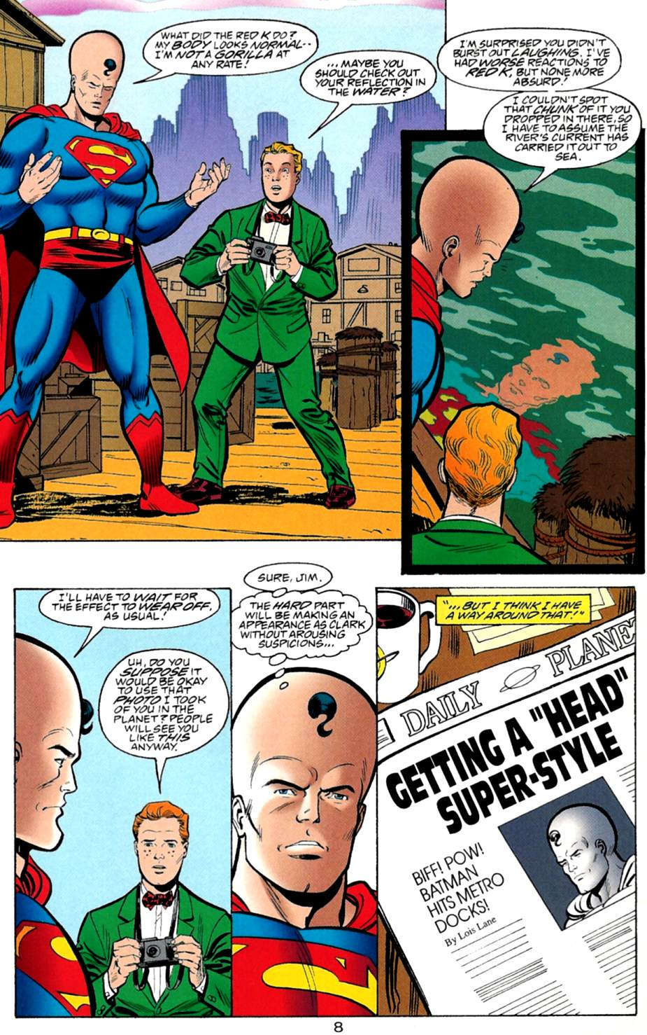 Read online Adventures of Superman (1987) comic -  Issue #560 - 9