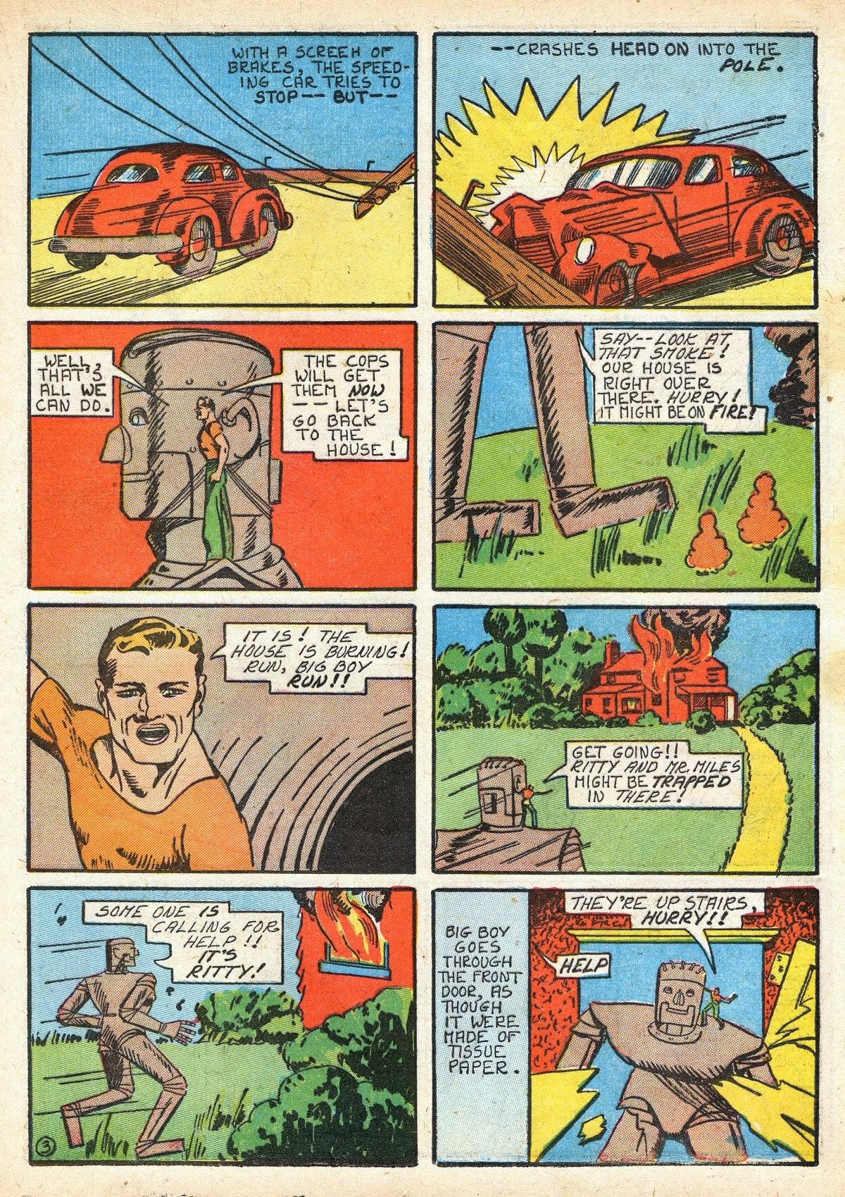 Read online Amazing Man Comics comic -  Issue #16 - 25