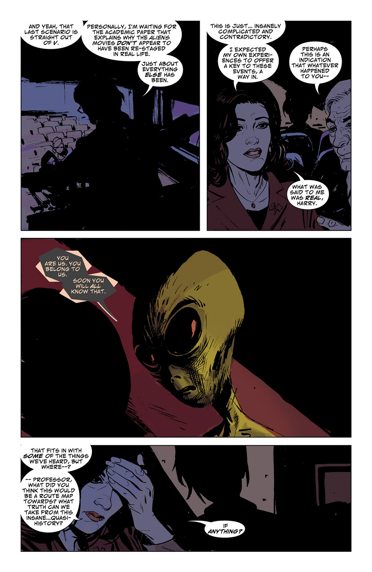 Read online Saucer Country comic -  Issue #6 - 15