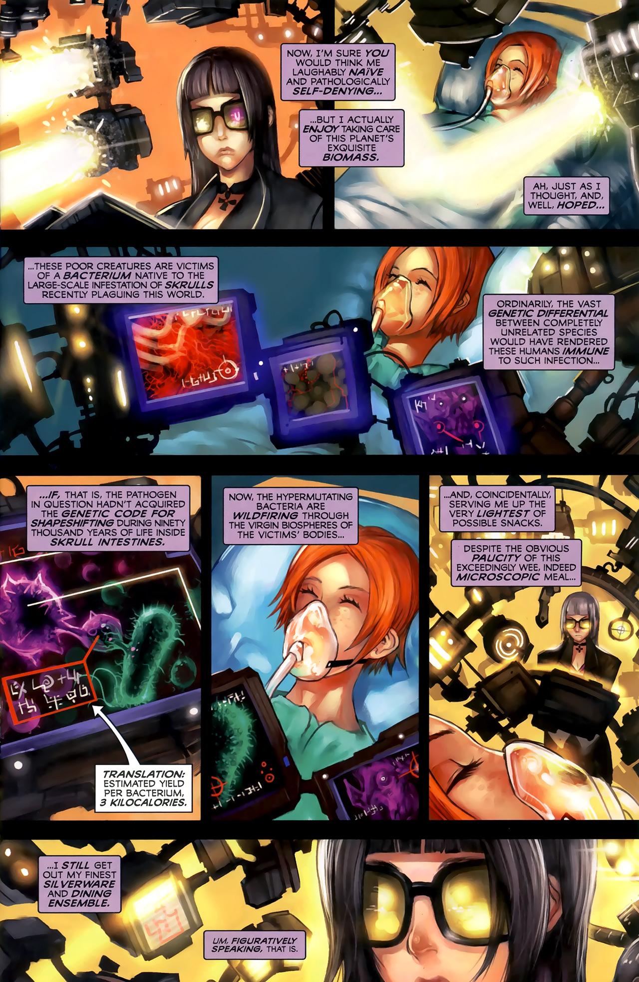 Read online Galacta: Daughter of Galactus comic -  Issue # Full - 4