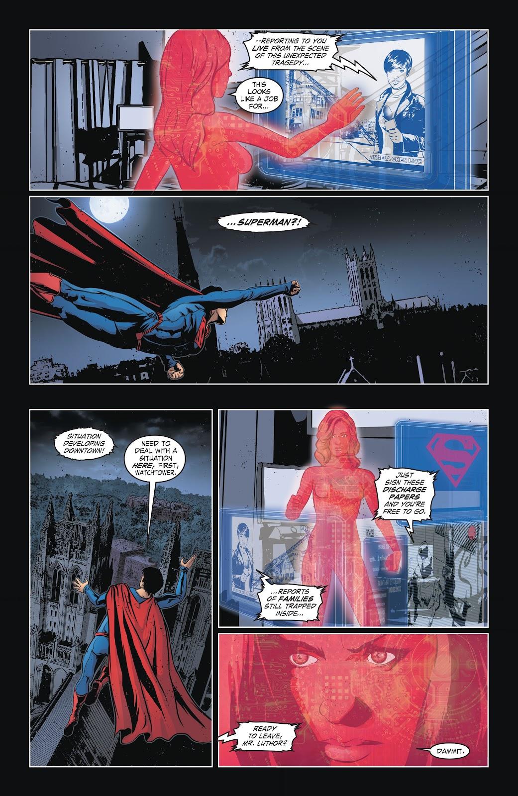 Read online Smallville Season 11 [II] comic -  Issue # TPB 6 - 21