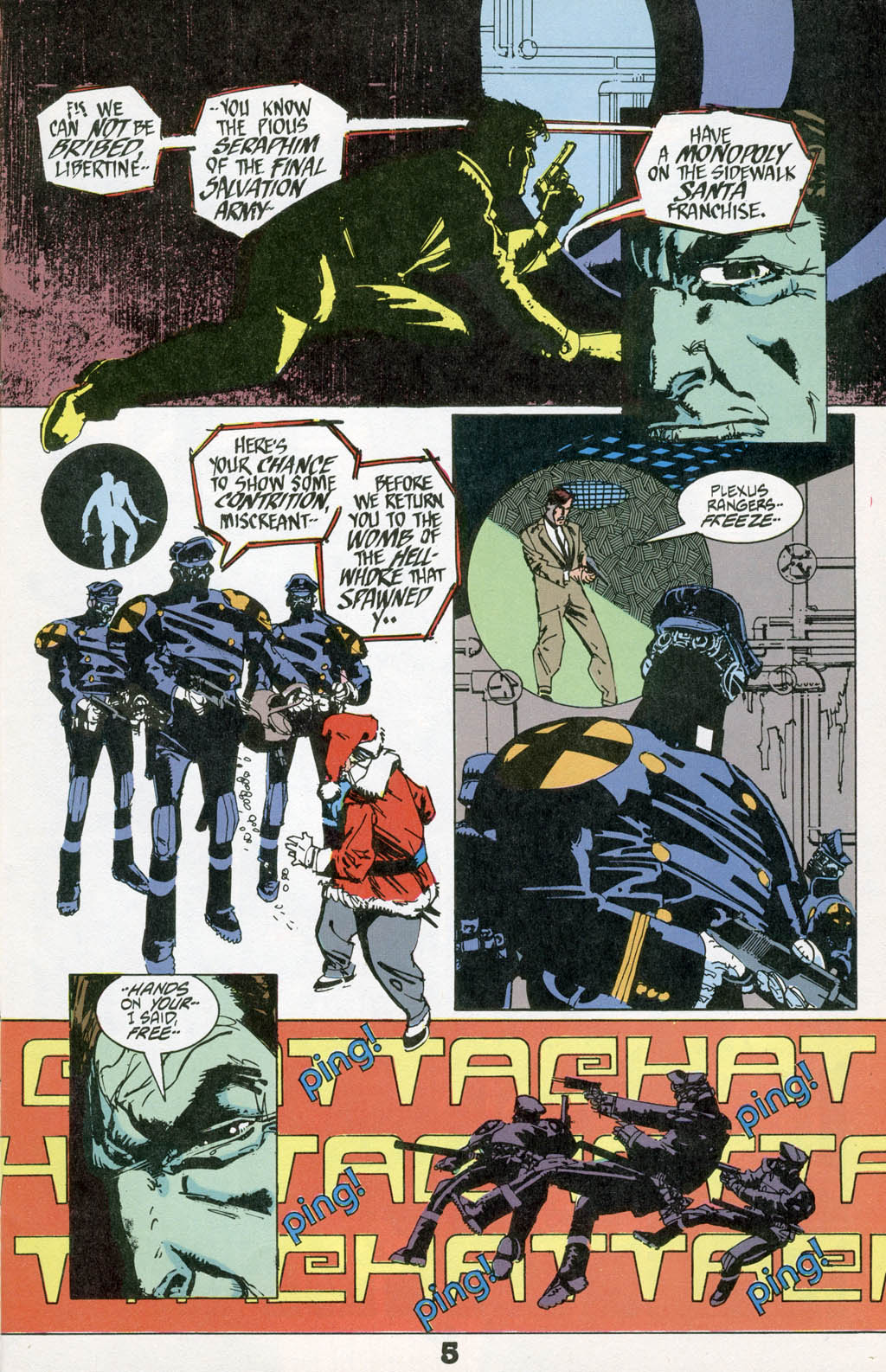 Read online American Flagg! comic -  Issue # _Special 1 - 7