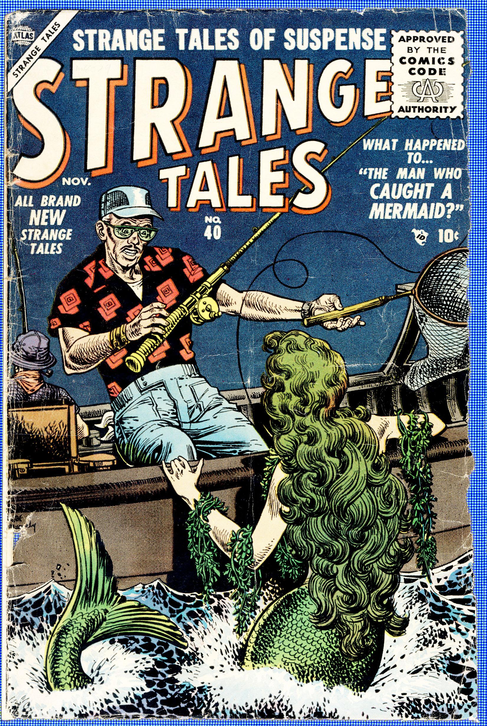 Strange Tales (1951) 40 Page 1