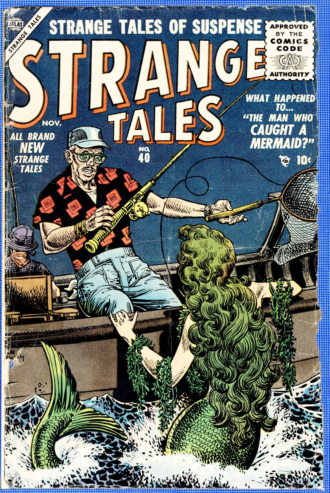 Strange Tales (1951) issue 40 - Page 1