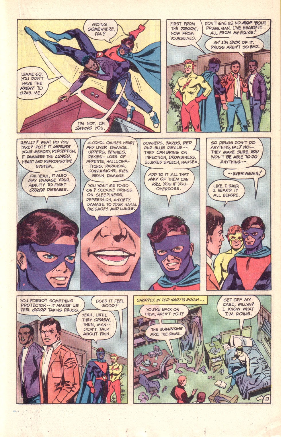 Read online The New Teen Titans (Drug Awareness Specials) comic -  Issue #1 - 19