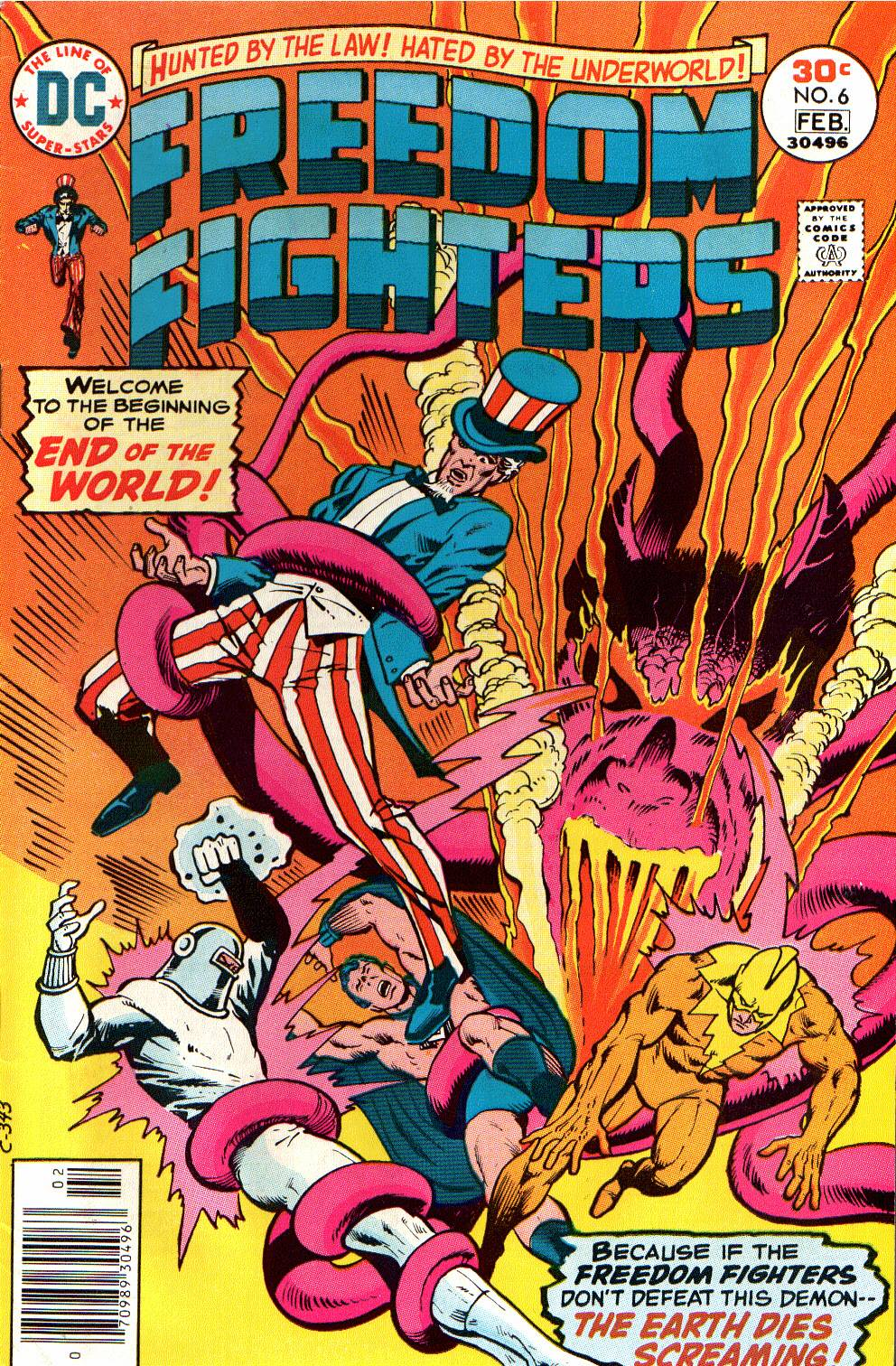 Freedom Fighters (1976) issue 6 - Page 1