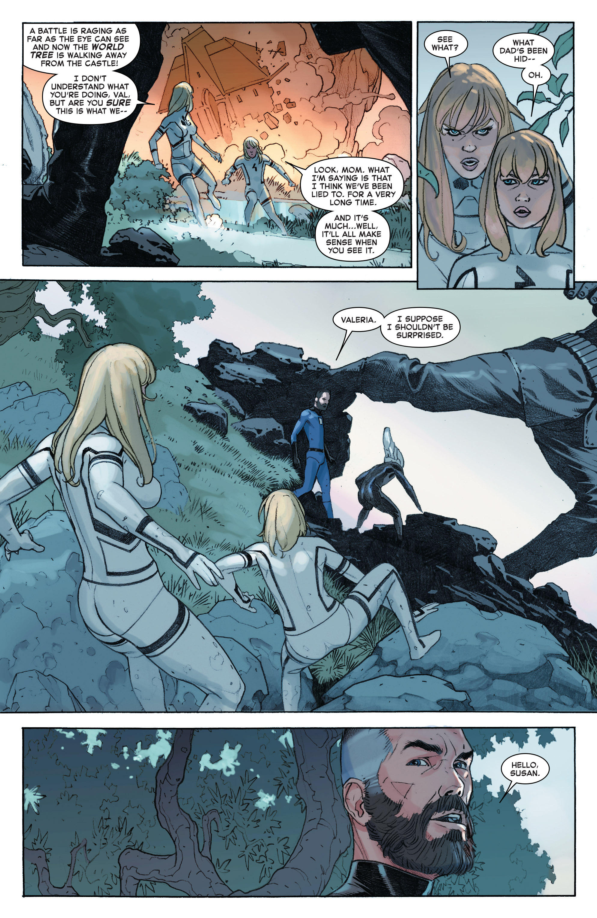 Read online Secret Wars comic -  Issue #8 - 19
