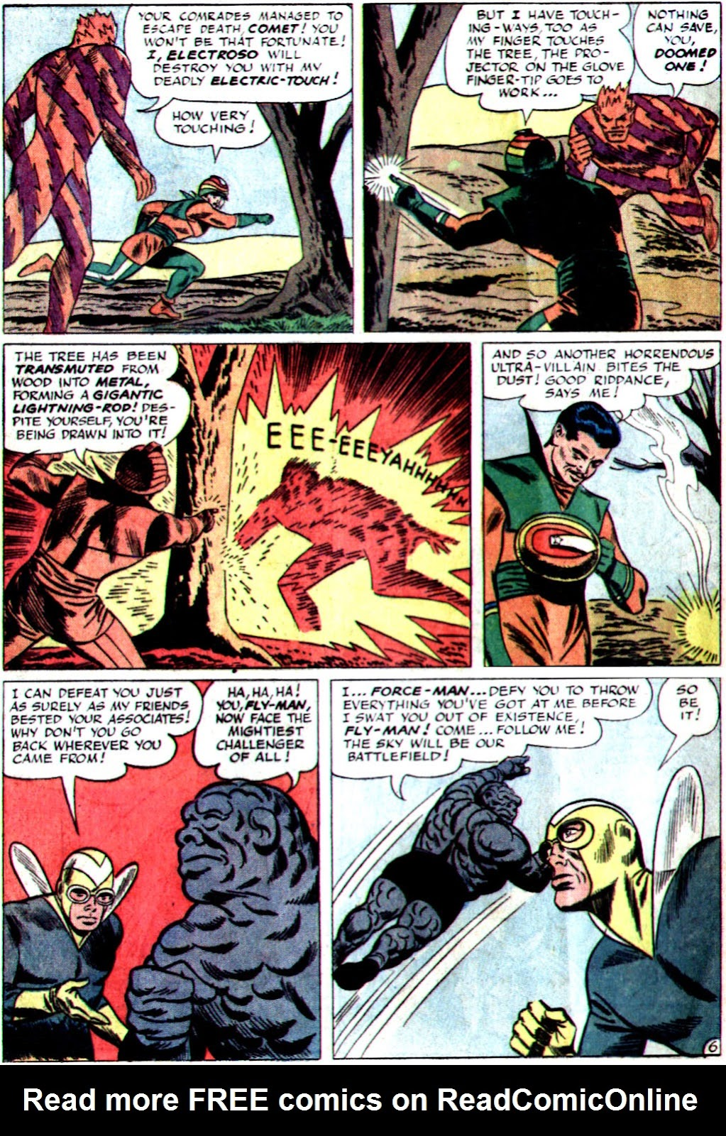 The Mighty Crusaders (1965) Issue #1 #1 - English 8
