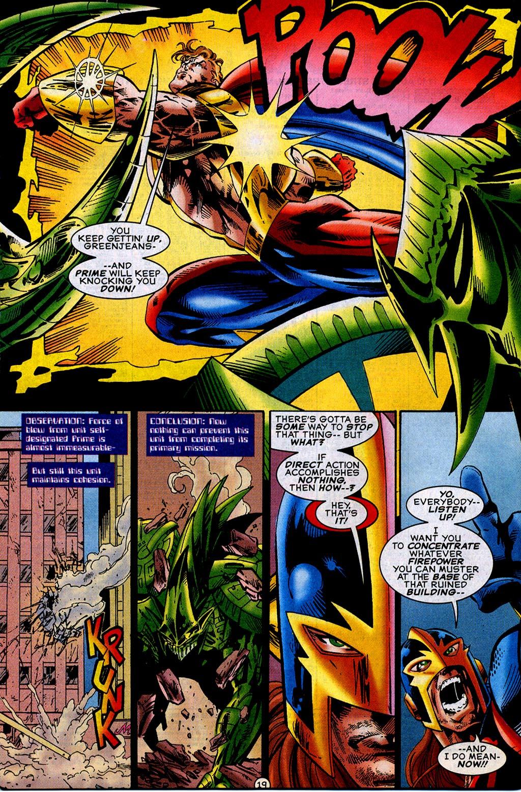 Read online UltraForce (1995) comic -  Issue #12 - 21