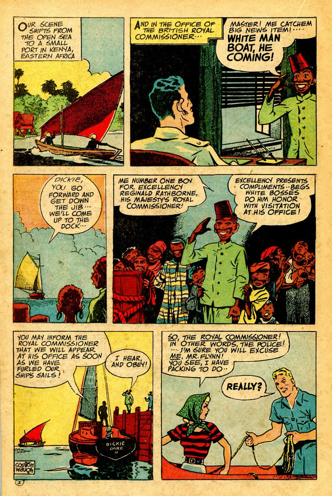 Read online Famous Funnies comic -  Issue #126 - 22