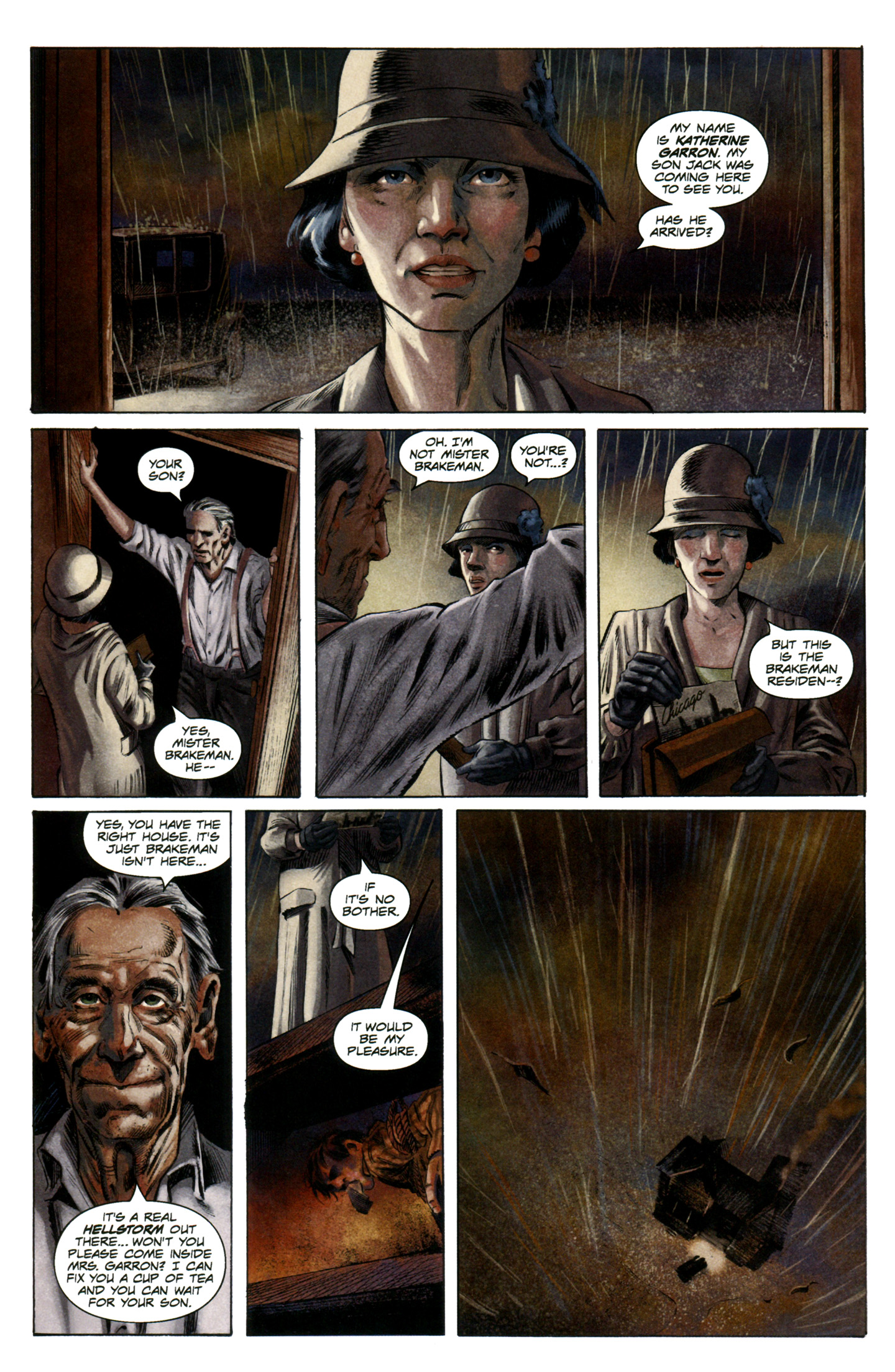 Read online Severed comic -  Issue #7 - 12