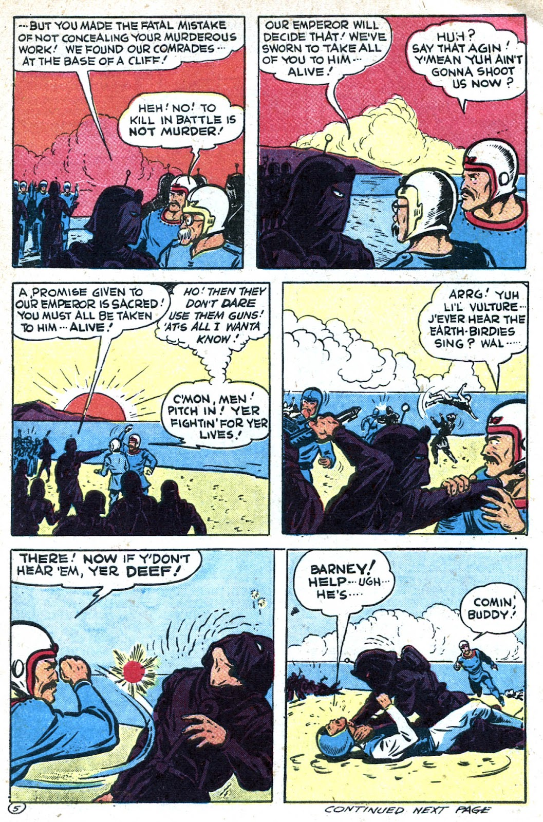 Read online Famous Funnies comic -  Issue #128 - 9