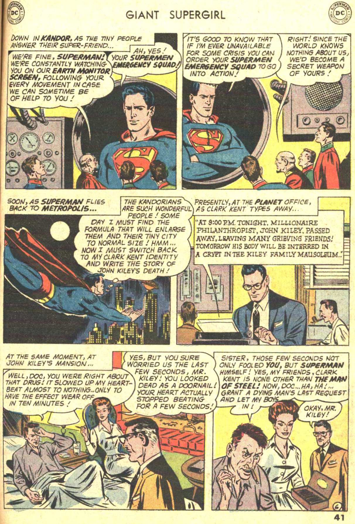 Read online Action Comics (1938) comic -  Issue #373 - 39