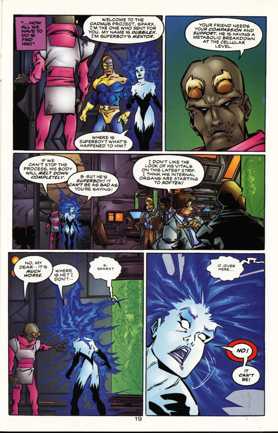 Read online Superboy & The Ravers comic -  Issue #10 - 19