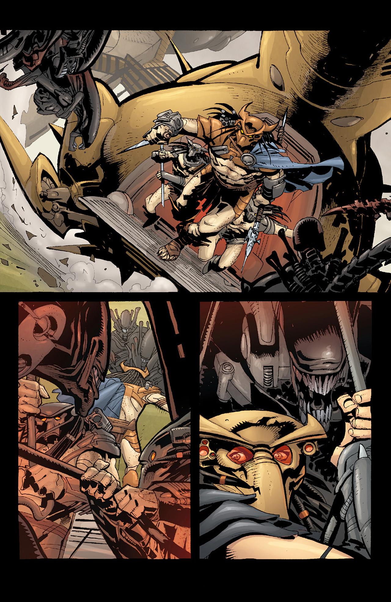 Read online Aliens vs. Predator: Three World War comic -  Issue #6 - 11