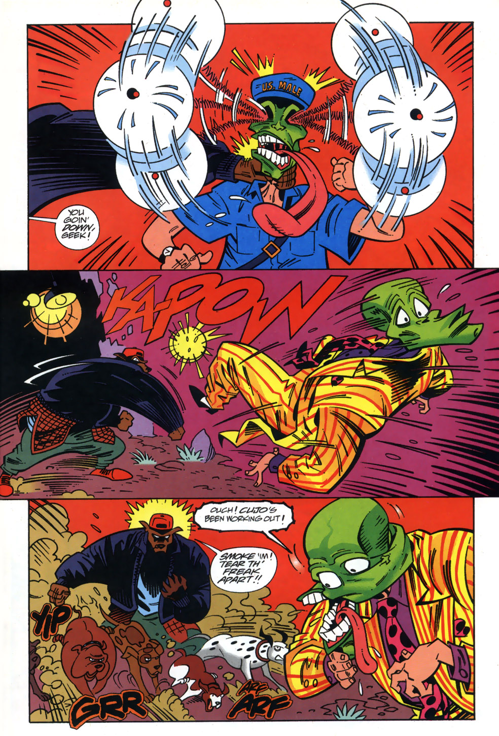 Read online Adventures Of The Mask comic -  Issue #3 - 19