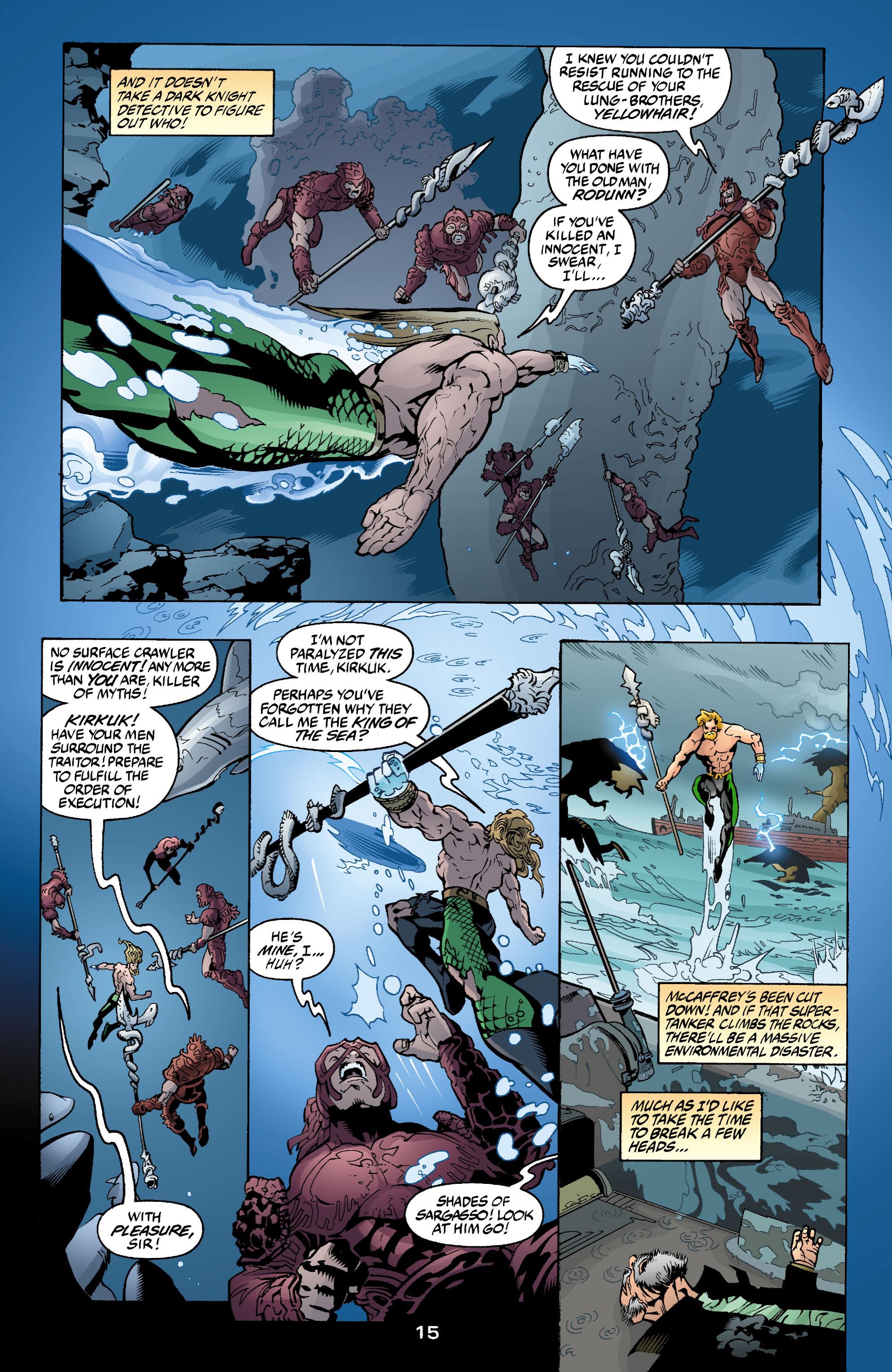 Read online Aquaman (2003) comic -  Issue #2 - 16