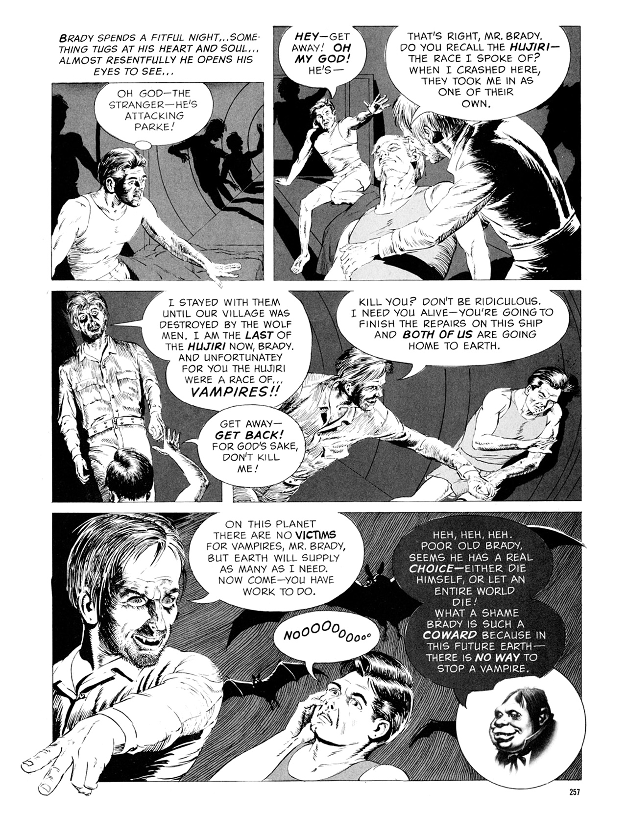 Read online Eerie Archives comic -  Issue # TPB 9 - 258