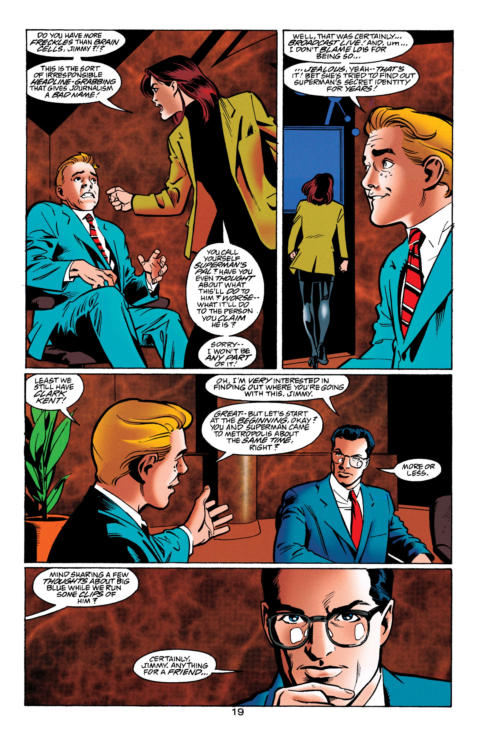 Adventures of Superman (1987) issue 550 - Page 20