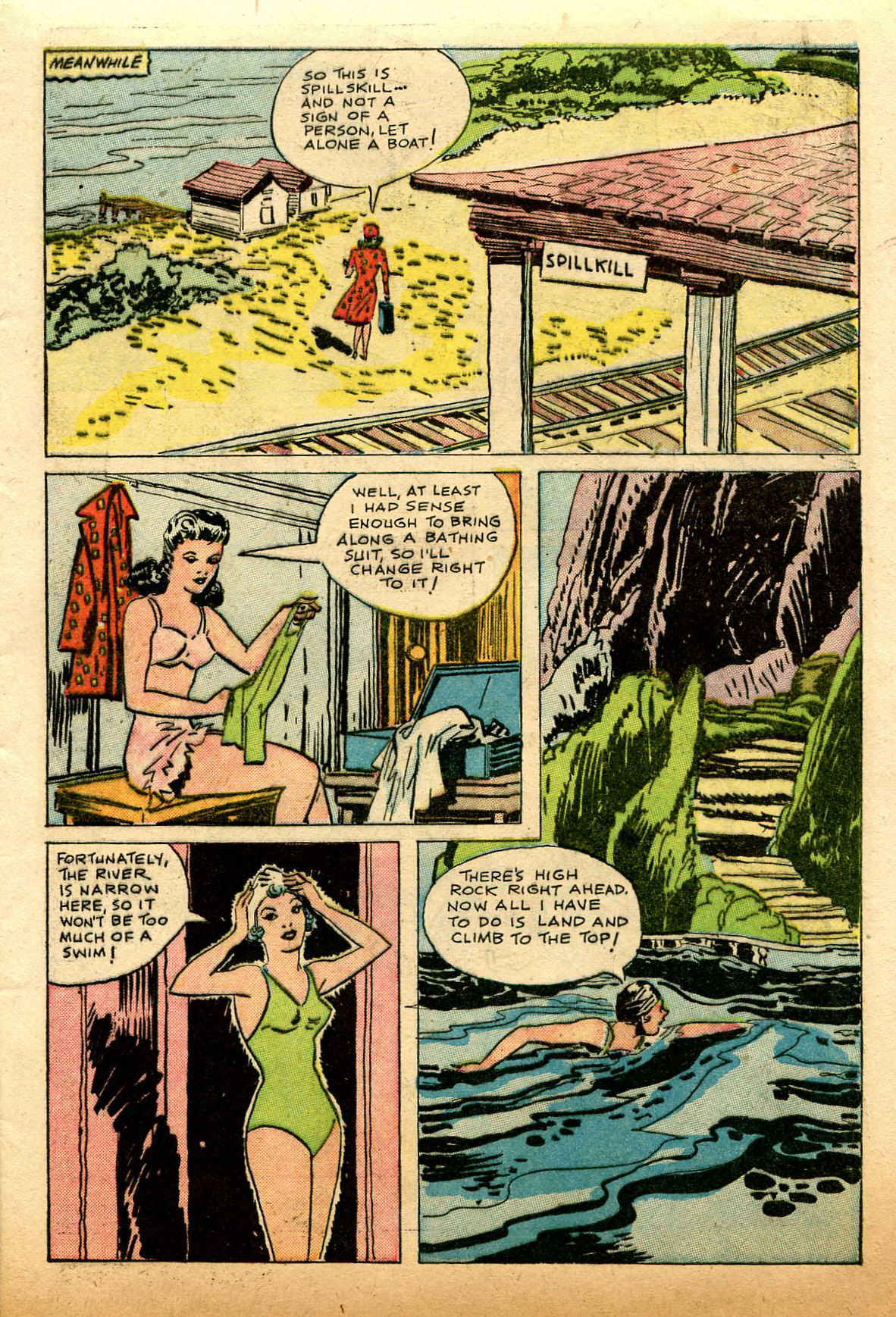 Read online Shadow Comics comic -  Issue #74 - 11