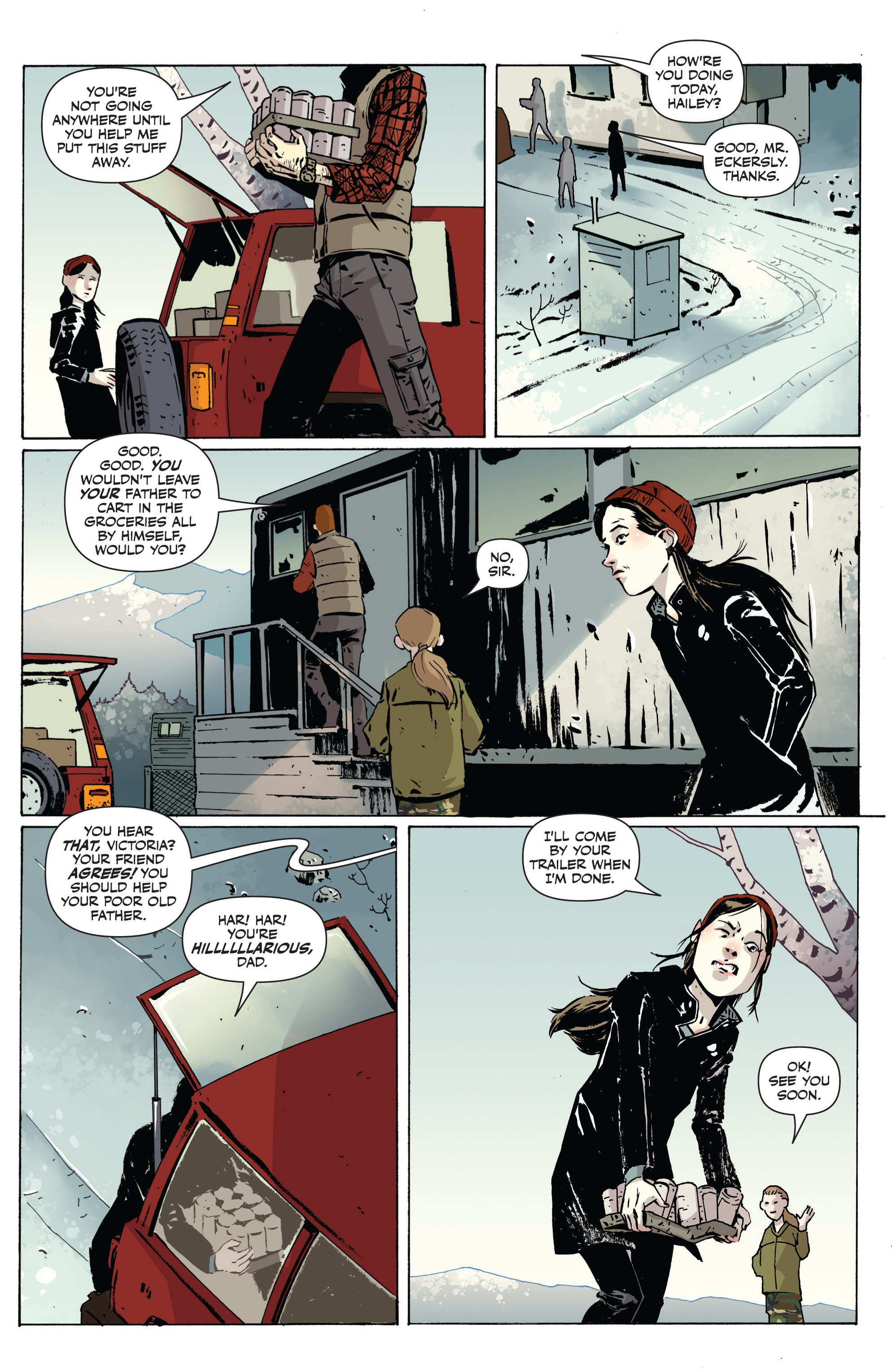Read online Sheltered comic -  Issue #1 - 5