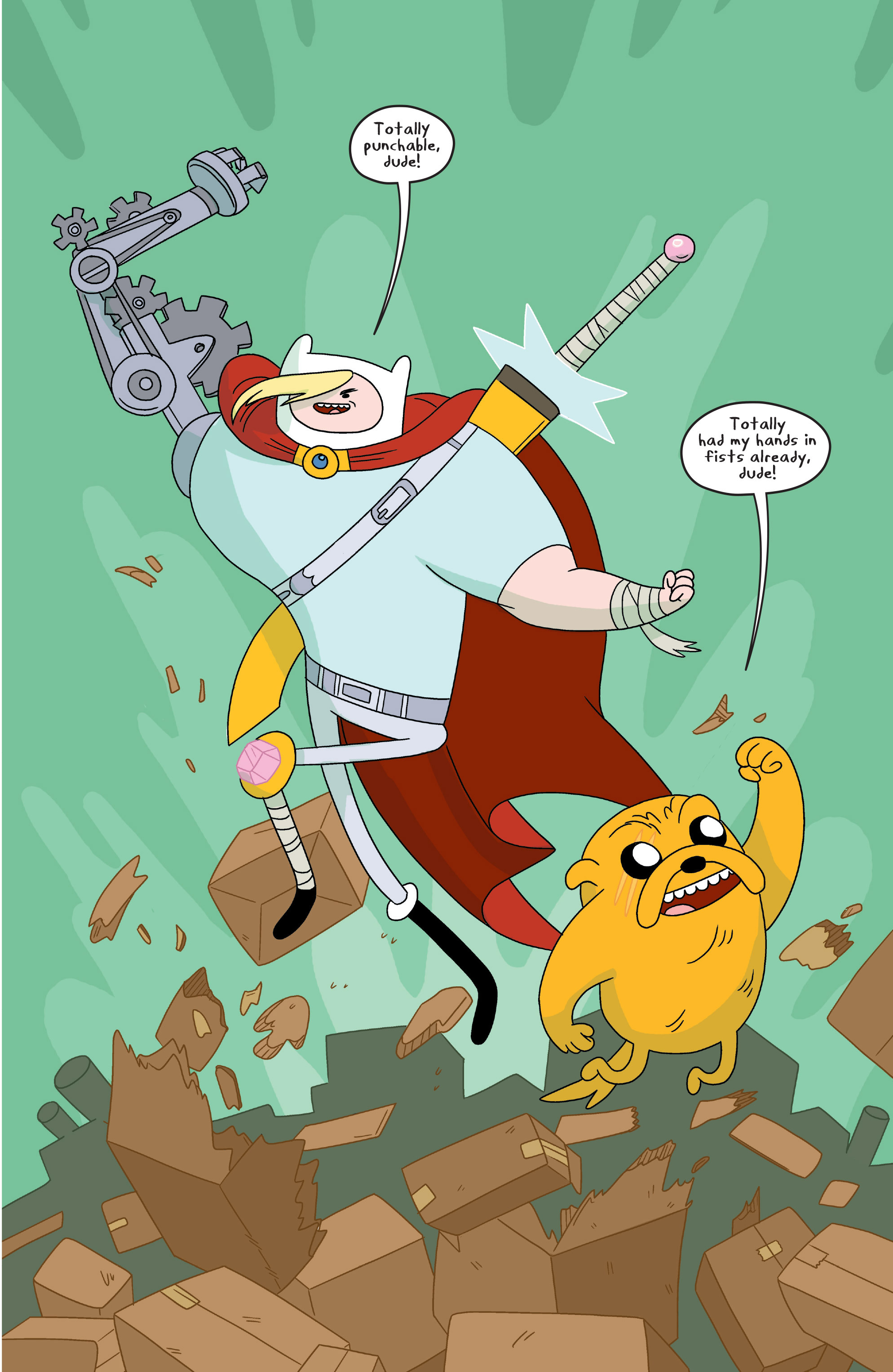 Read online Adventure Time comic -  Issue #7 - 12