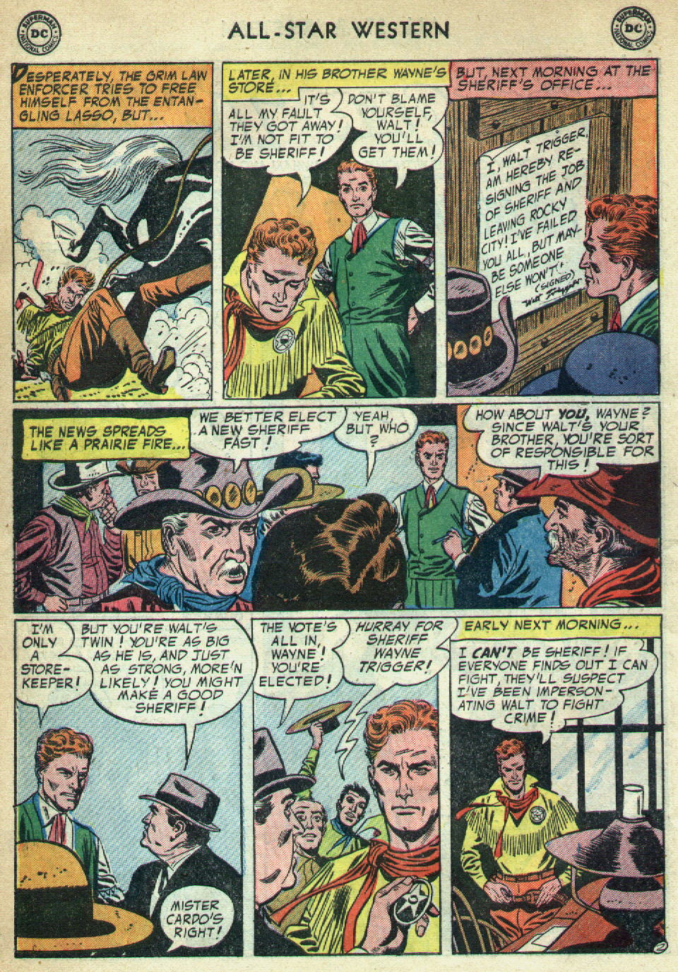 Read online All-Star Western (1951) comic -  Issue #79 - 30