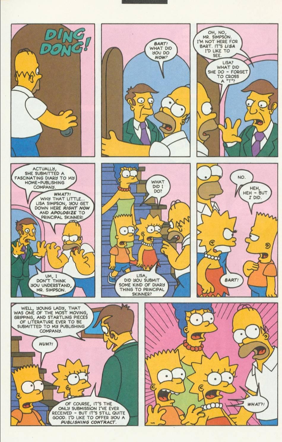 Read online Simpsons Comics comic -  Issue #9 - 5