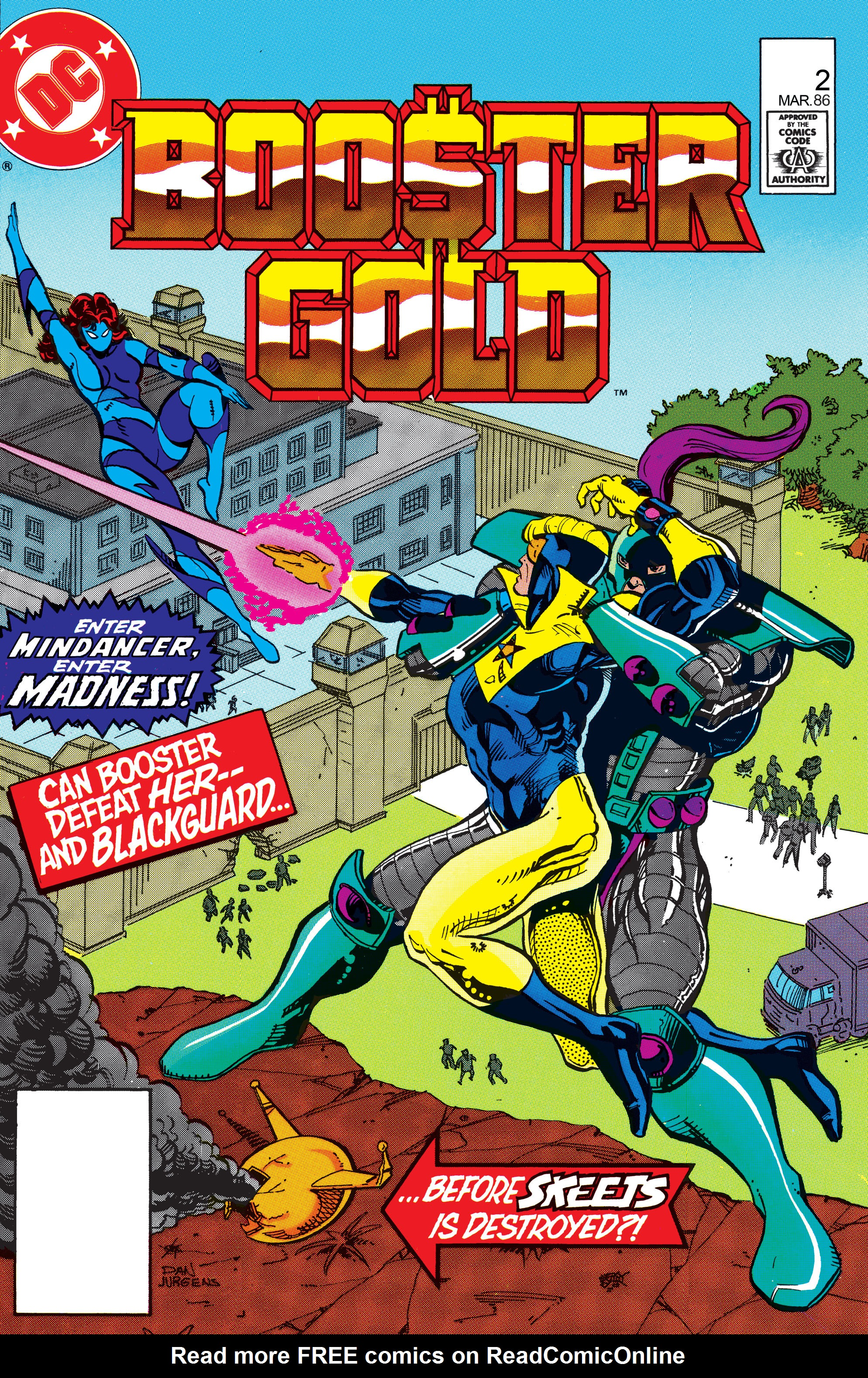 Booster Gold 1986 Issue 2