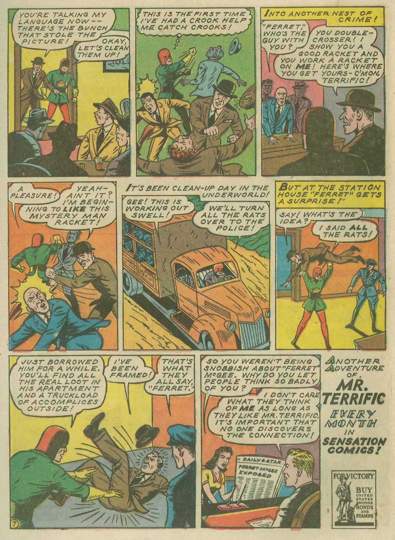 Read online Sensation (Mystery) Comics comic -  Issue #9 - 31